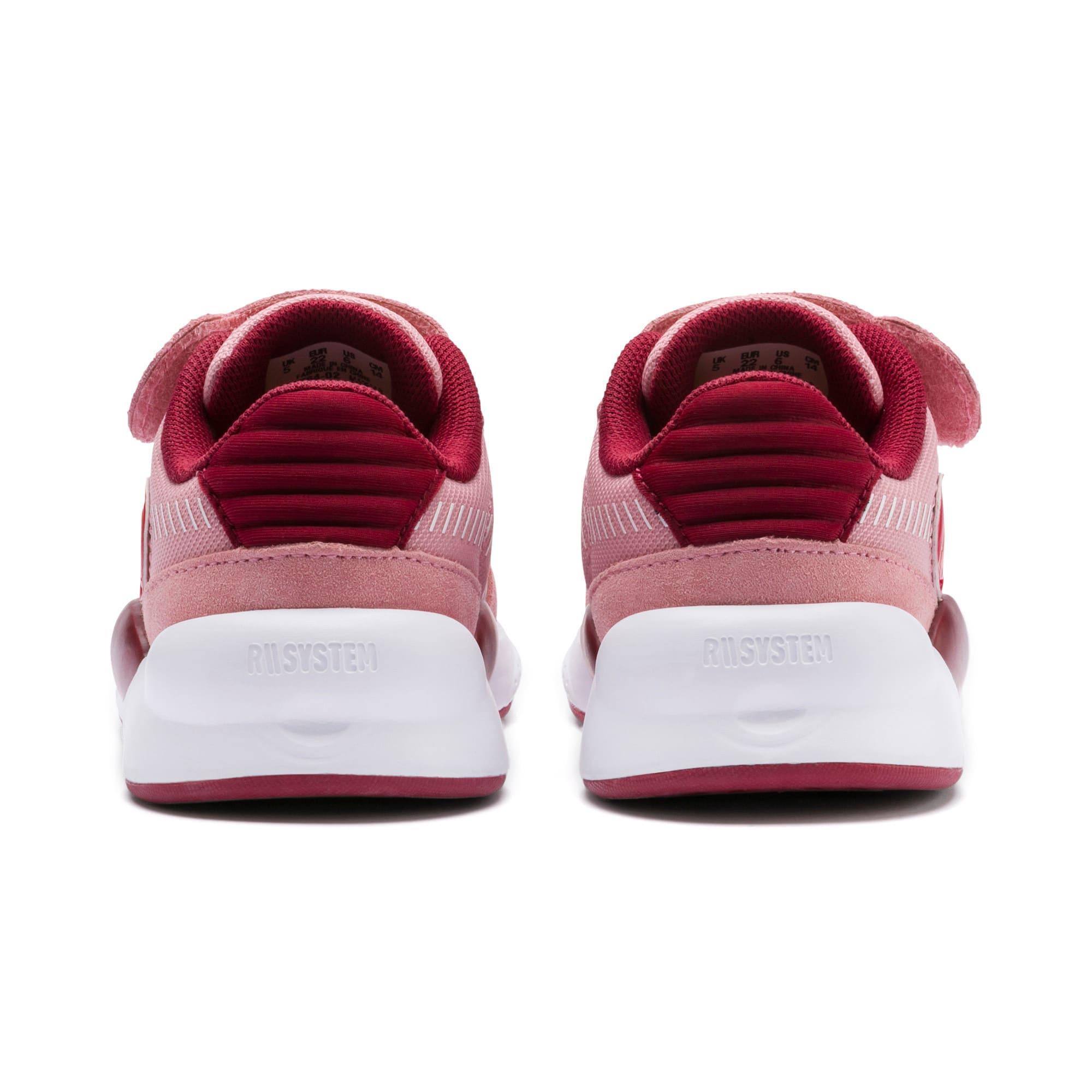 Thumbnail 3 of PUMA x SESAME STREET 50 RS 9.8 Toddler Shoes, Bridal Rose-Rhubarb, medium