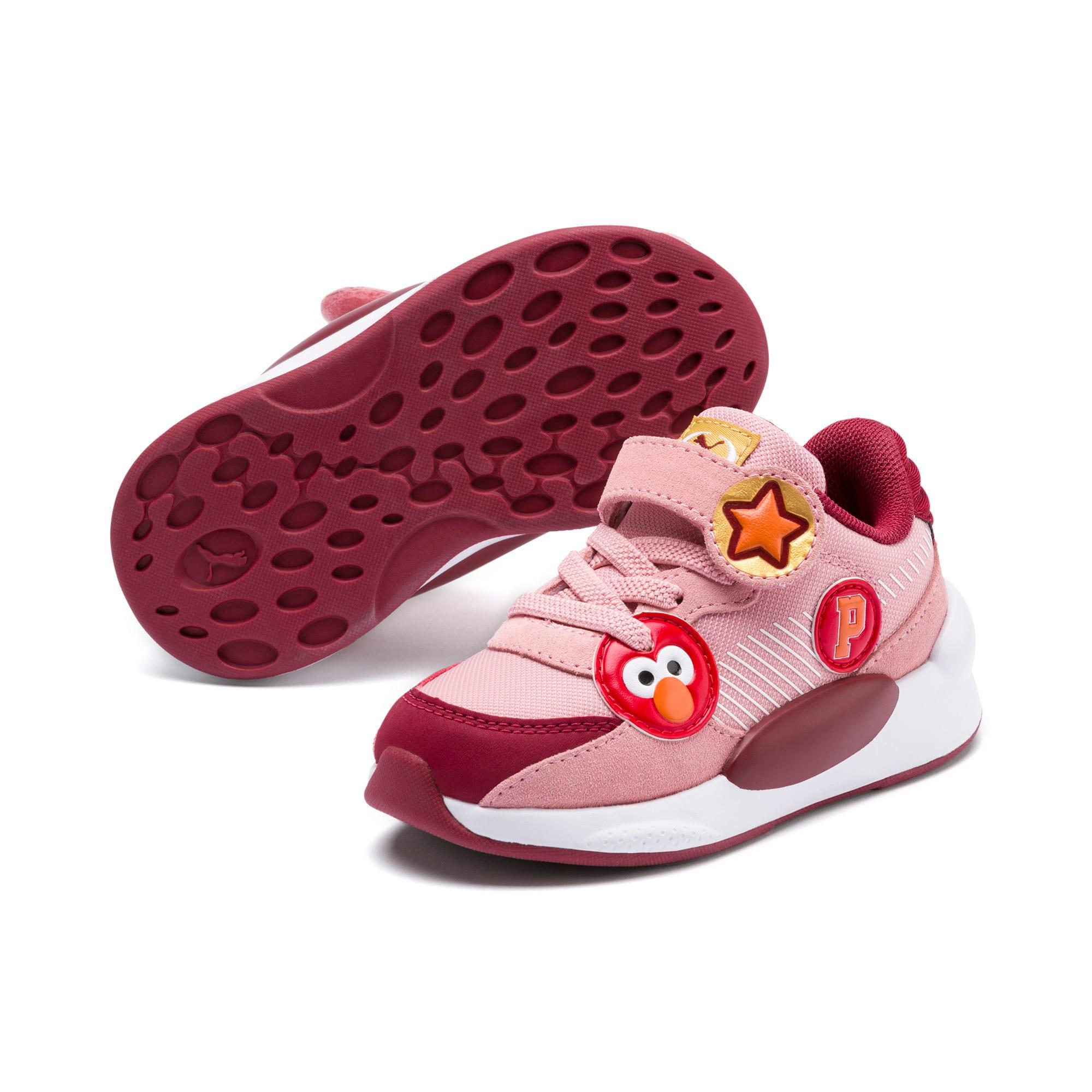 Thumbnail 2 of PUMA x SESAME STREET 50 RS 9.8 Toddler Shoes, Bridal Rose-Rhubarb, medium