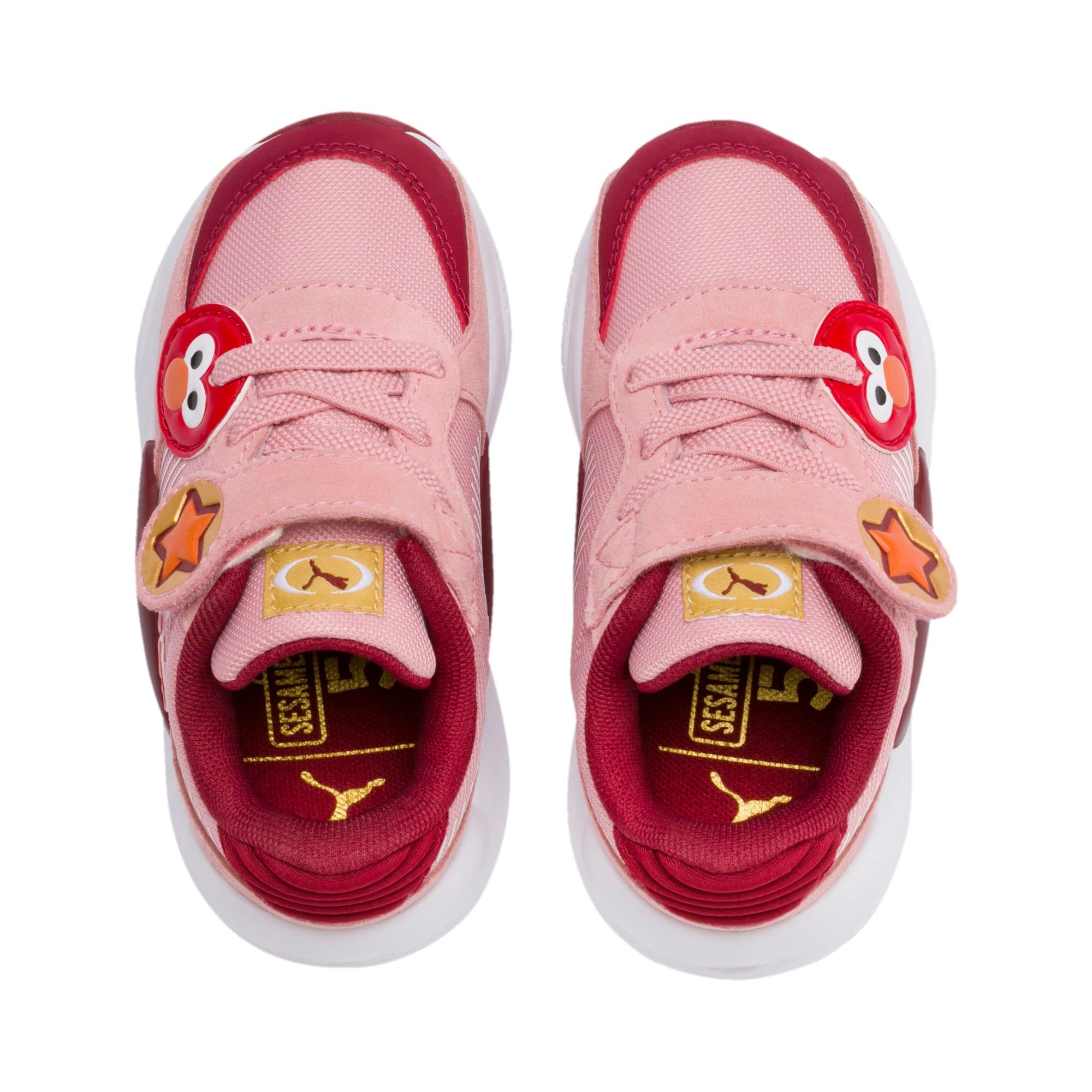 Thumbnail 6 of PUMA x SESAME STREET 50 RS 9.8 Toddler Shoes, Bridal Rose-Rhubarb, medium