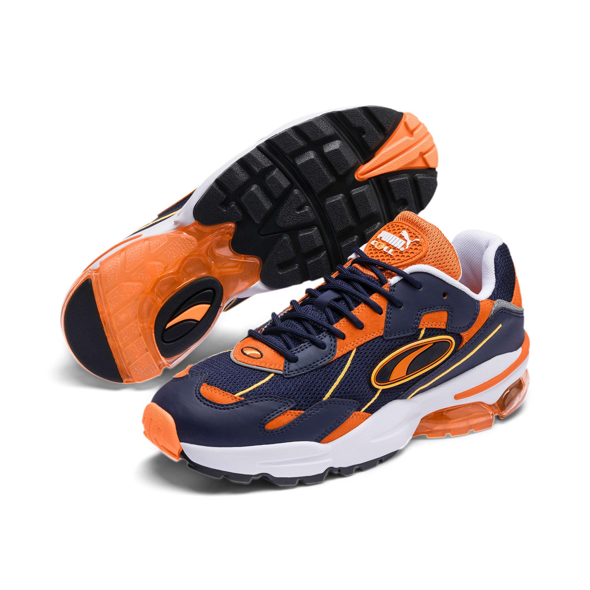 Thumbnail 3 of CELL Ultra OG Pack Sneakers, Peacoat-Jaffa Orange, medium