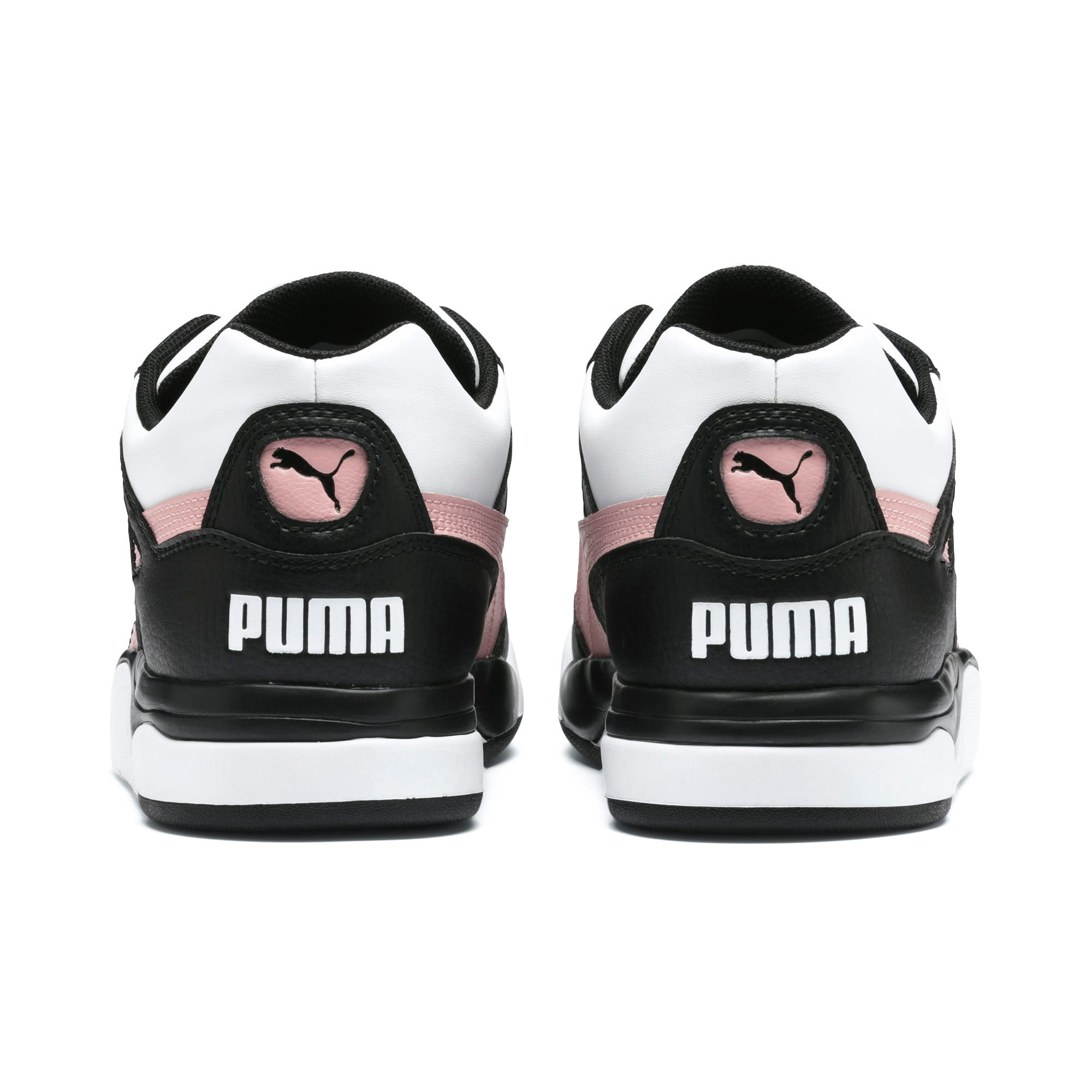 Thumbnail 4 of Basket Palace Guard Colour Block pour femme, Puma Black-Puma White, medium