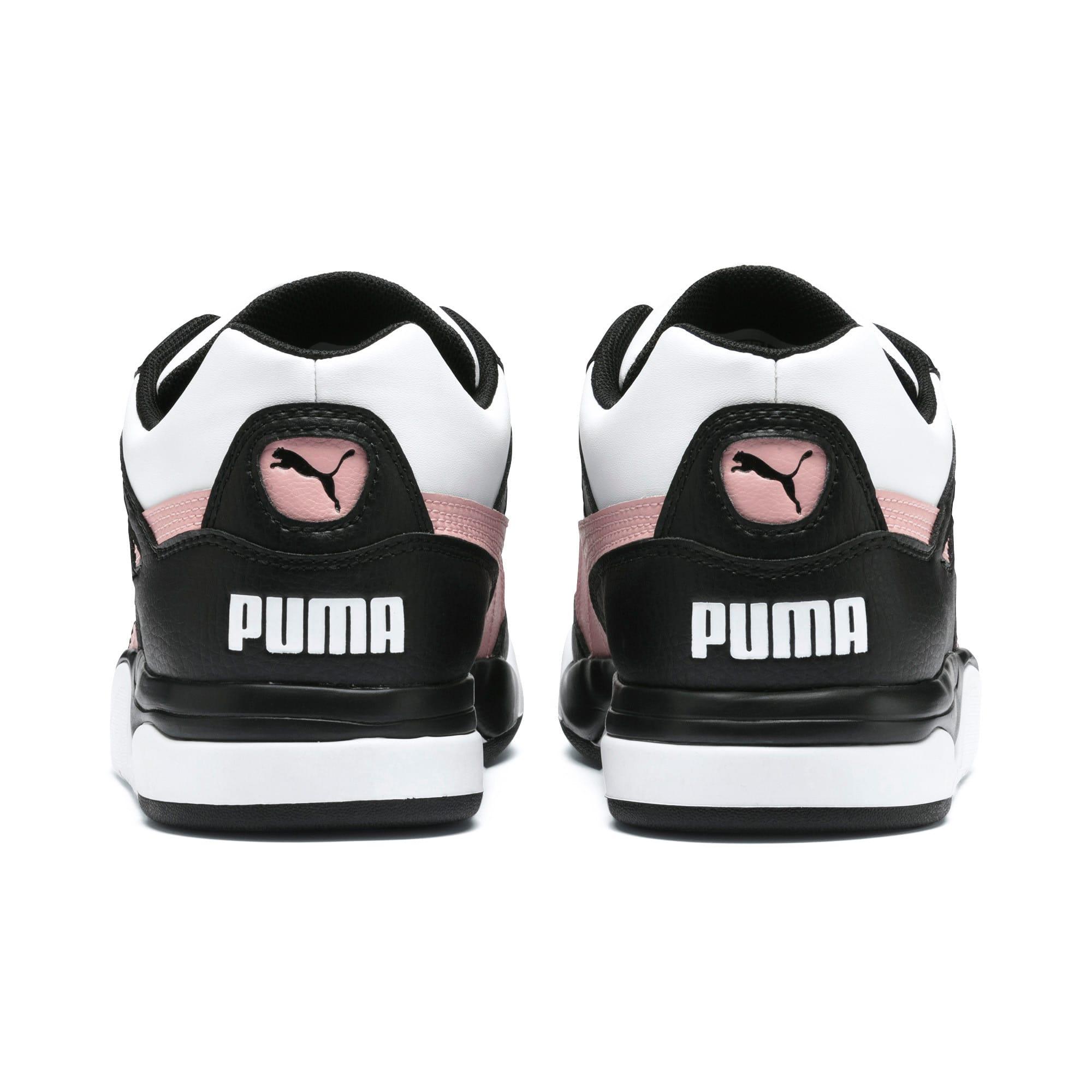 Thumbnail 4 of Palace Guard Colorblock Women's Sneakers, Puma Black-Puma White, medium