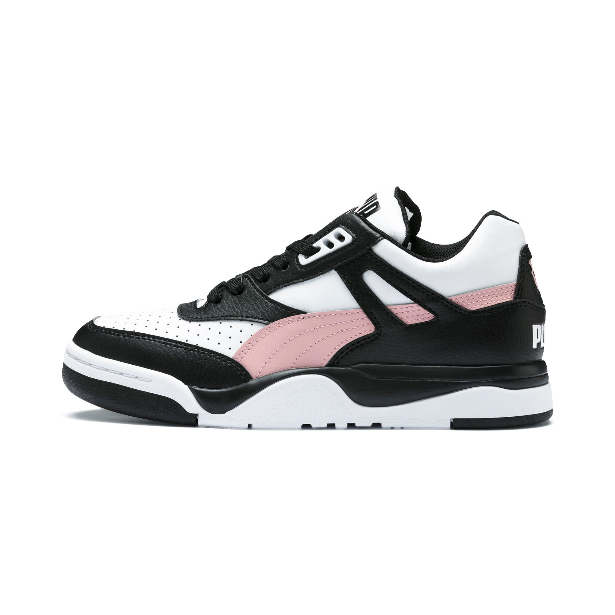Thumbnail 1 of Basket Palace Guard Colour Block pour femme, Puma Black-Puma White, medium