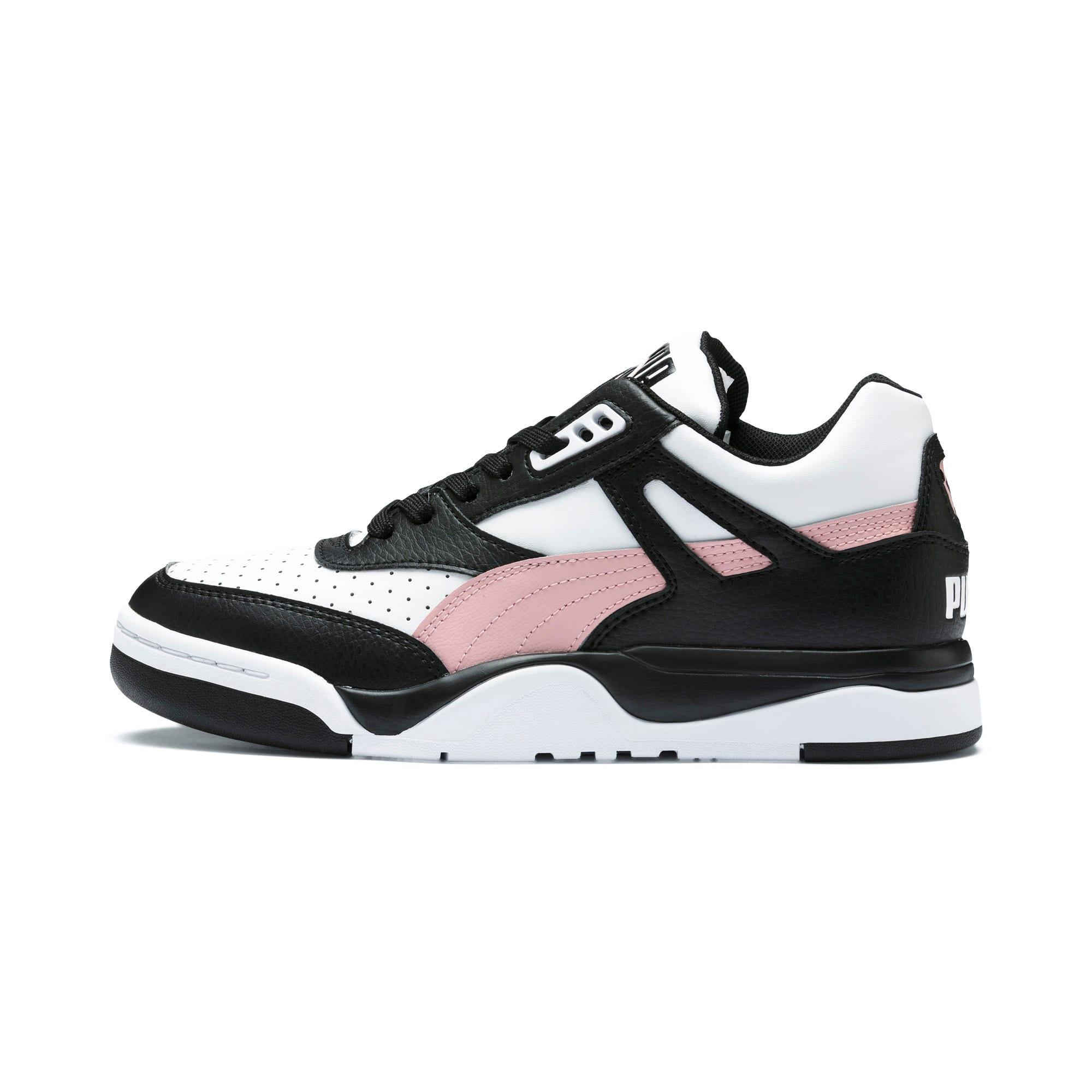 Thumbnail 1 of Palace Guard Colorblock Women's Sneakers, Puma Black-Puma White, medium