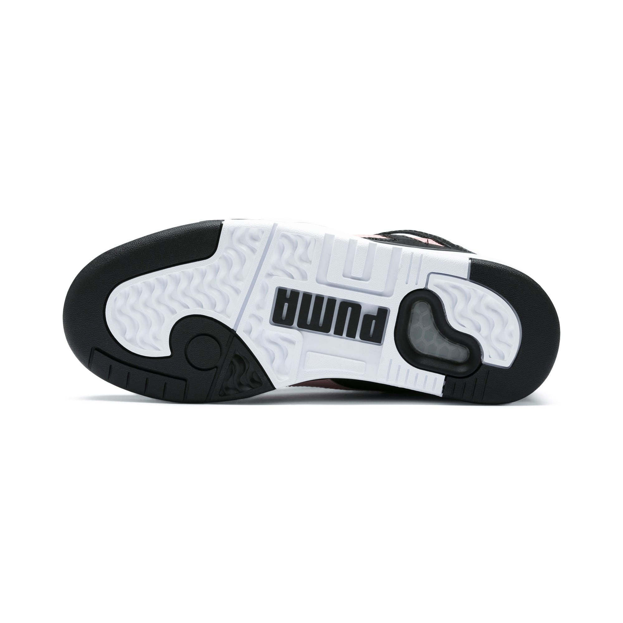 Thumbnail 5 of Basket Palace Guard Colour Block pour femme, Puma Black-Puma White, medium