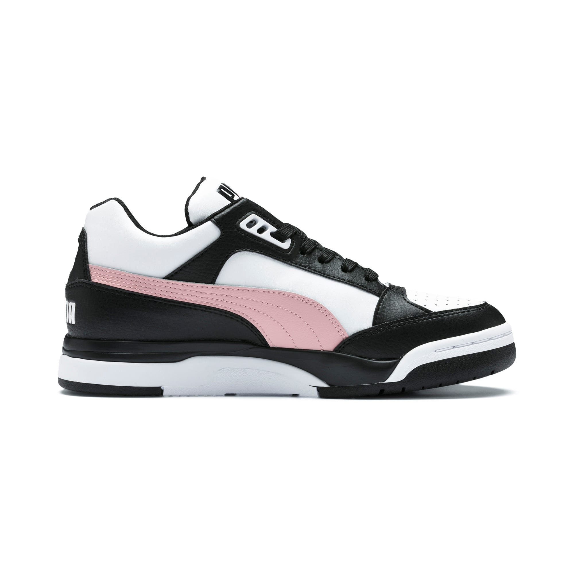 Thumbnail 6 of Basket Palace Guard Colour Block pour femme, Puma Black-Puma White, medium