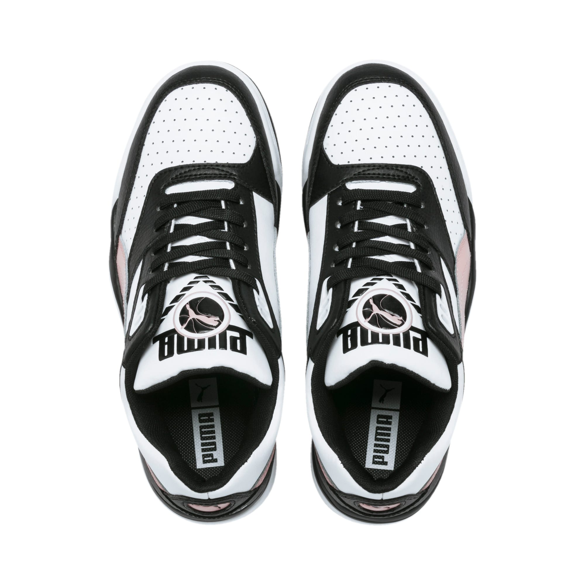 Thumbnail 7 of Basket Palace Guard Colour Block pour femme, Puma Black-Puma White, medium