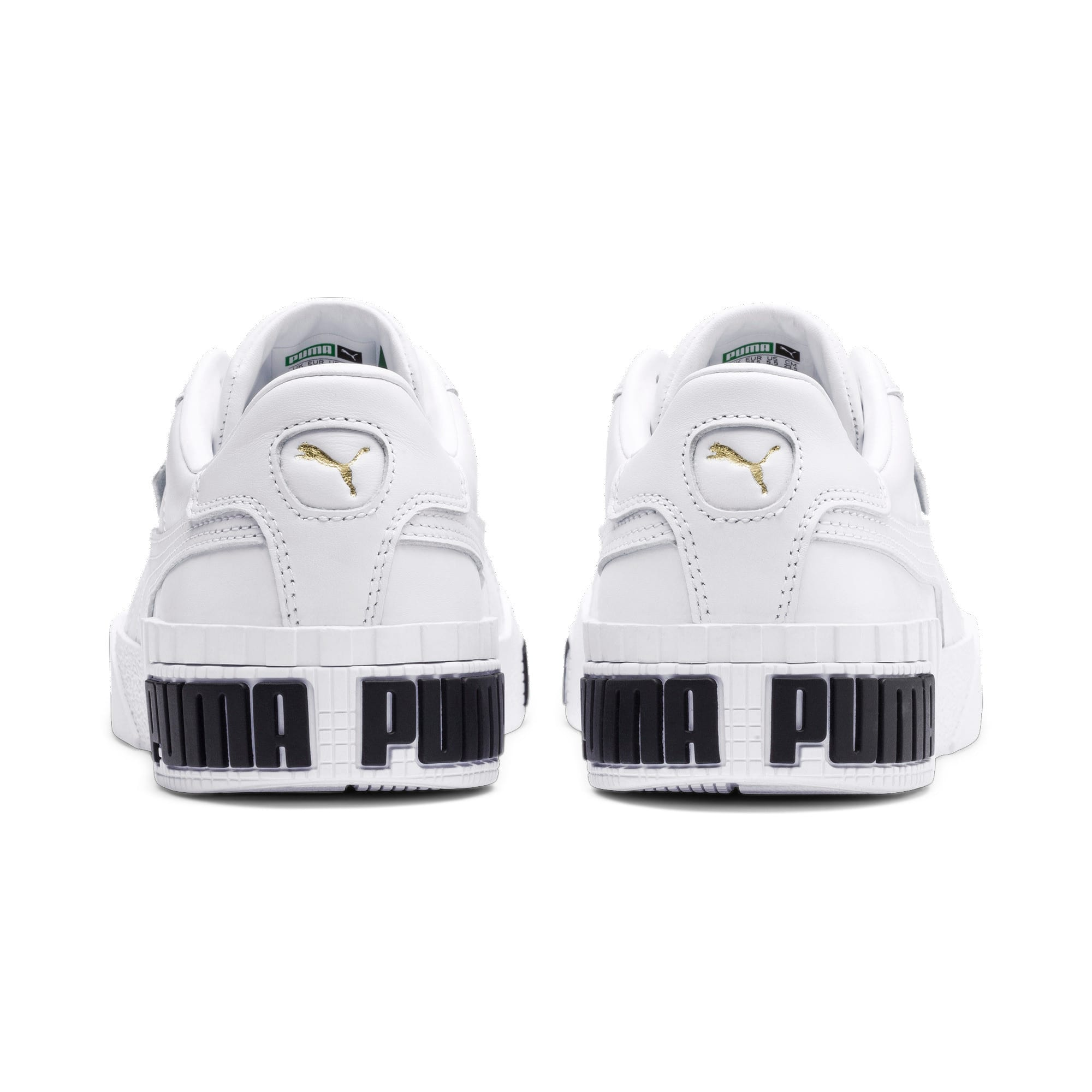 Thumbnail 4 of Cali Bold Women's Sneakers, Puma White-Metallic Gold, medium