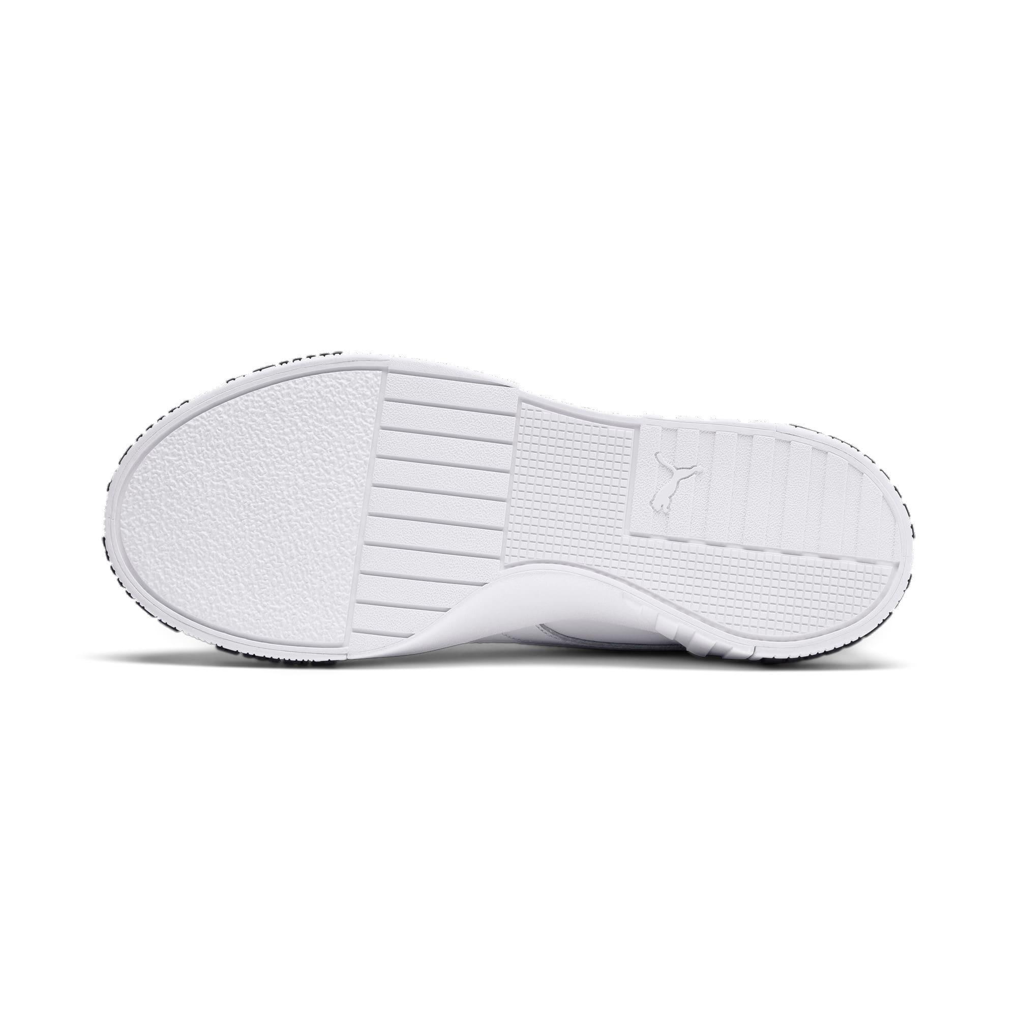 Thumbnail 5 of Cali Bold Women's Sneakers, Puma White-Metallic Gold, medium