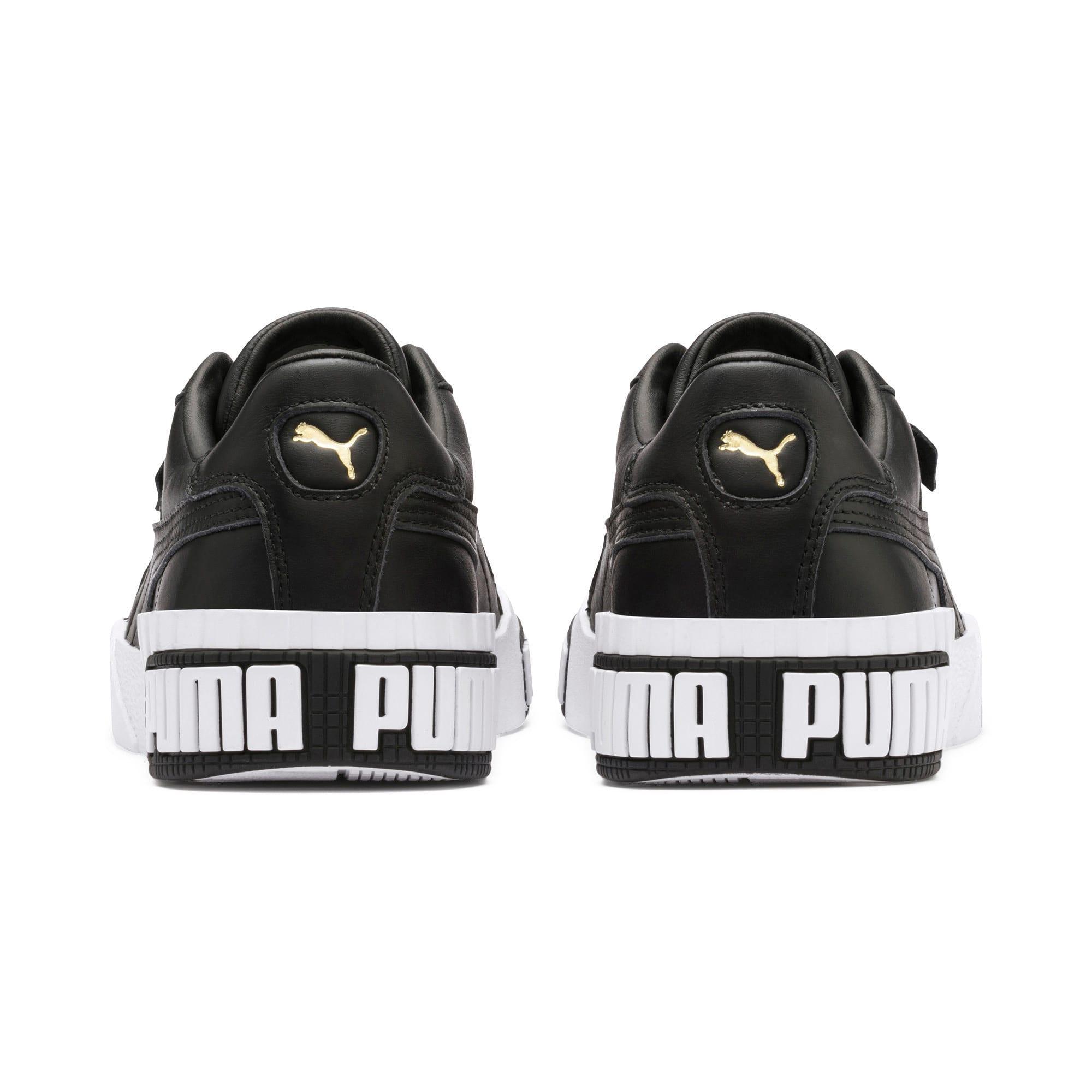 Thumbnail 4 of Cali Bold Women's Sneakers, Puma Black-Metallic Gold, medium