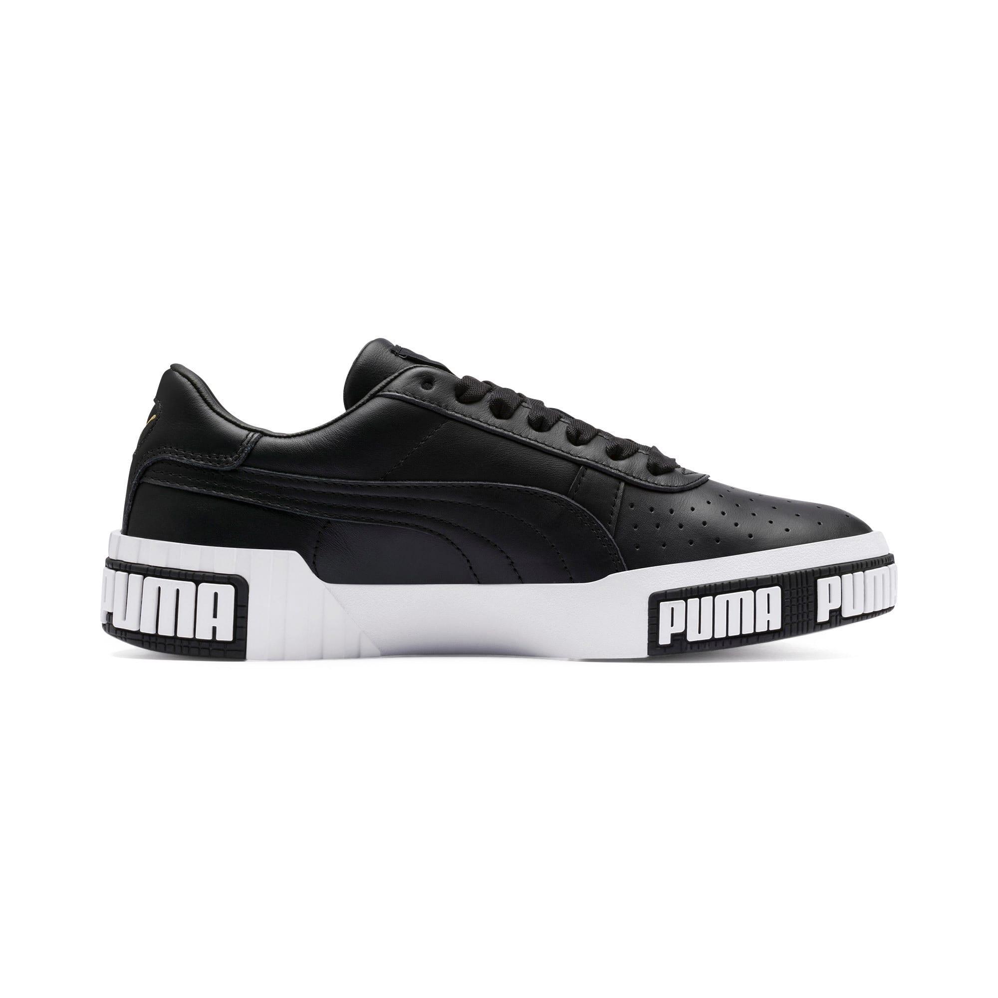 Thumbnail 7 of Cali Bold Women's Sneakers, Puma Black-Metallic Gold, medium