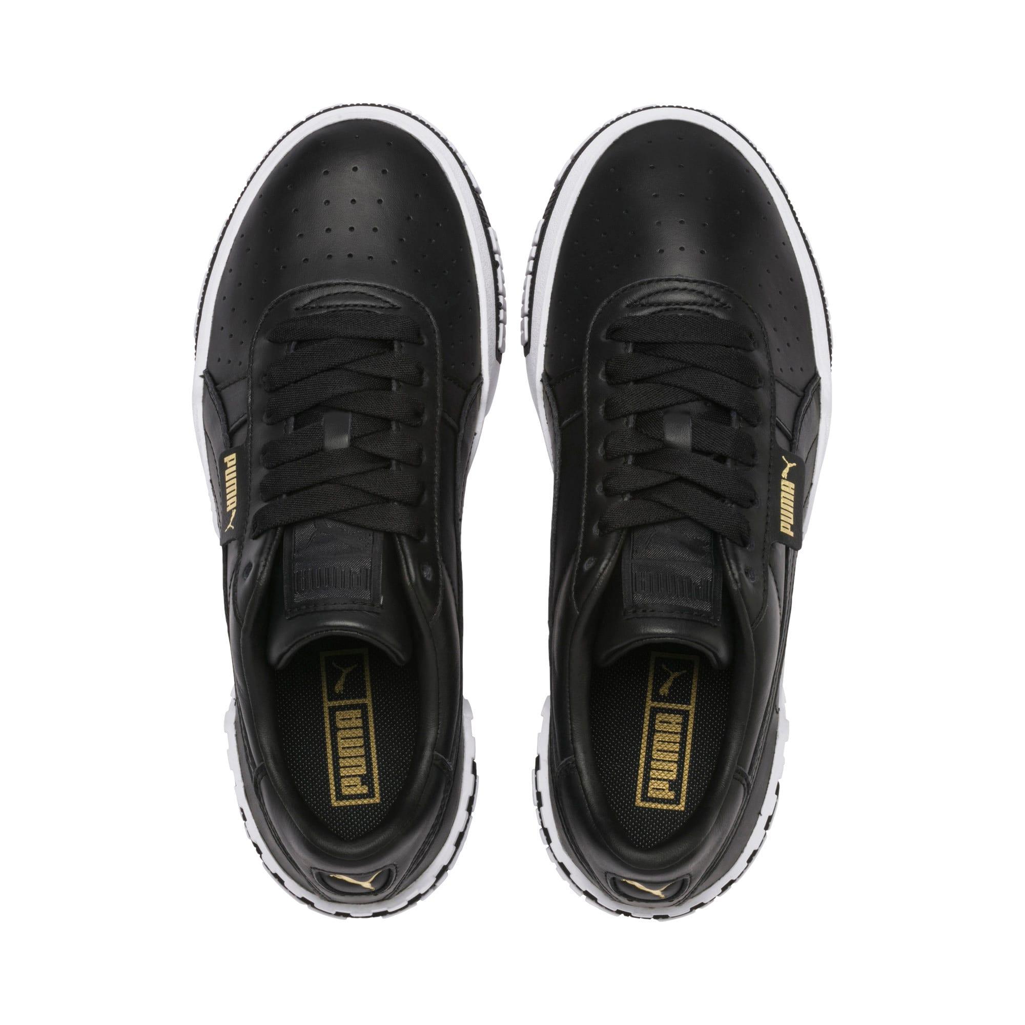 Thumbnail 8 of Cali Bold Women's Sneakers, Puma Black-Metallic Gold, medium