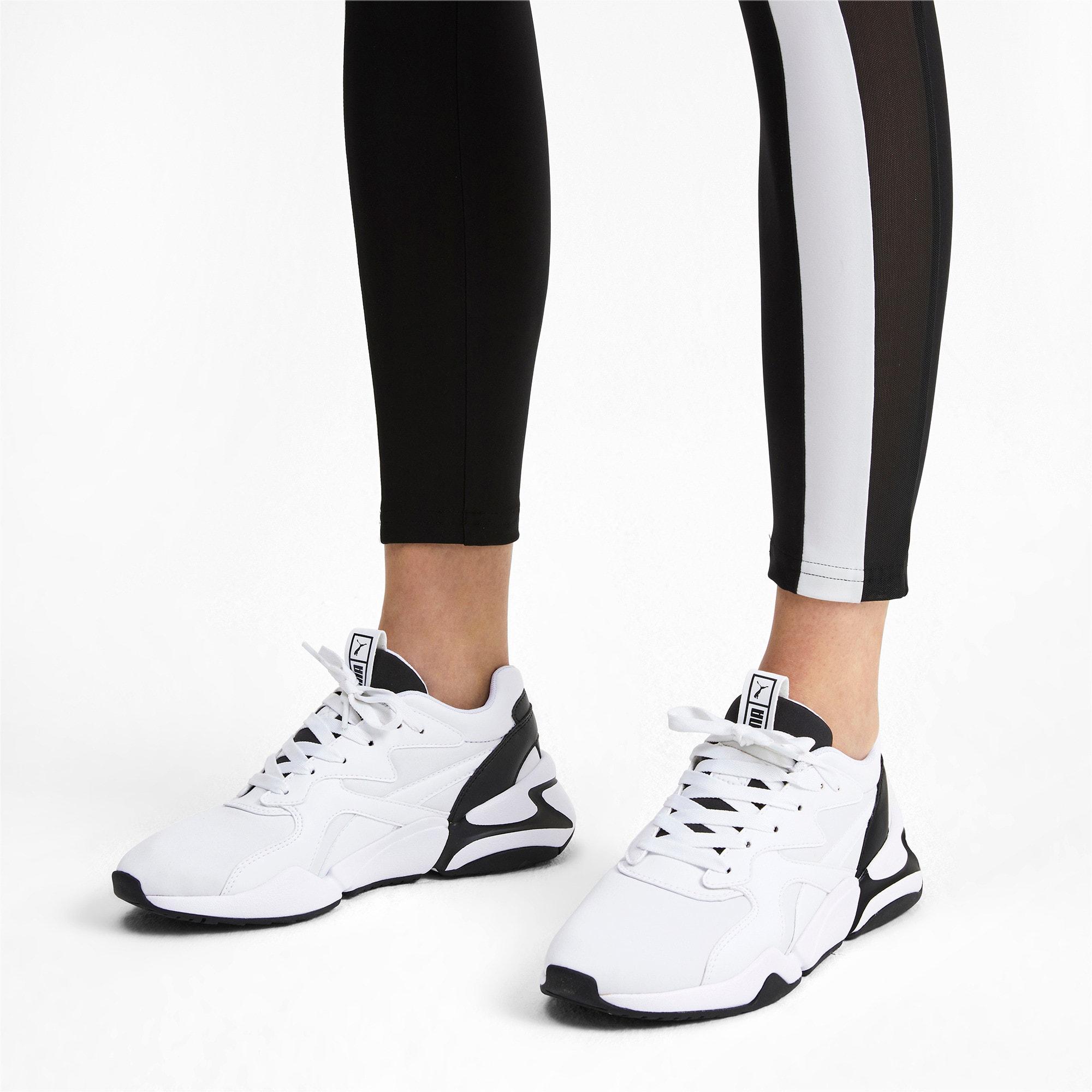 Thumbnail 2 of Nova Women's Sneakers, Puma White-Puma Black, medium