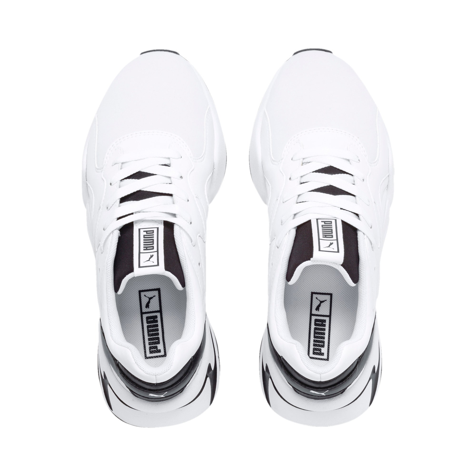 Thumbnail 9 of Nova Women's Sneakers, Puma White-Puma Black, medium