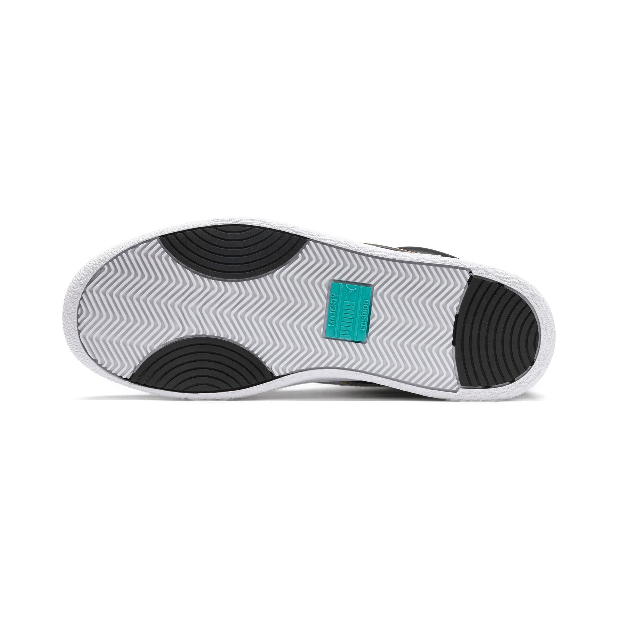 Thumbnail 5 of Ralph Sampson Mid Hoops Sneakers, Puma Blk-Puma Wht-Puma Wht, medium