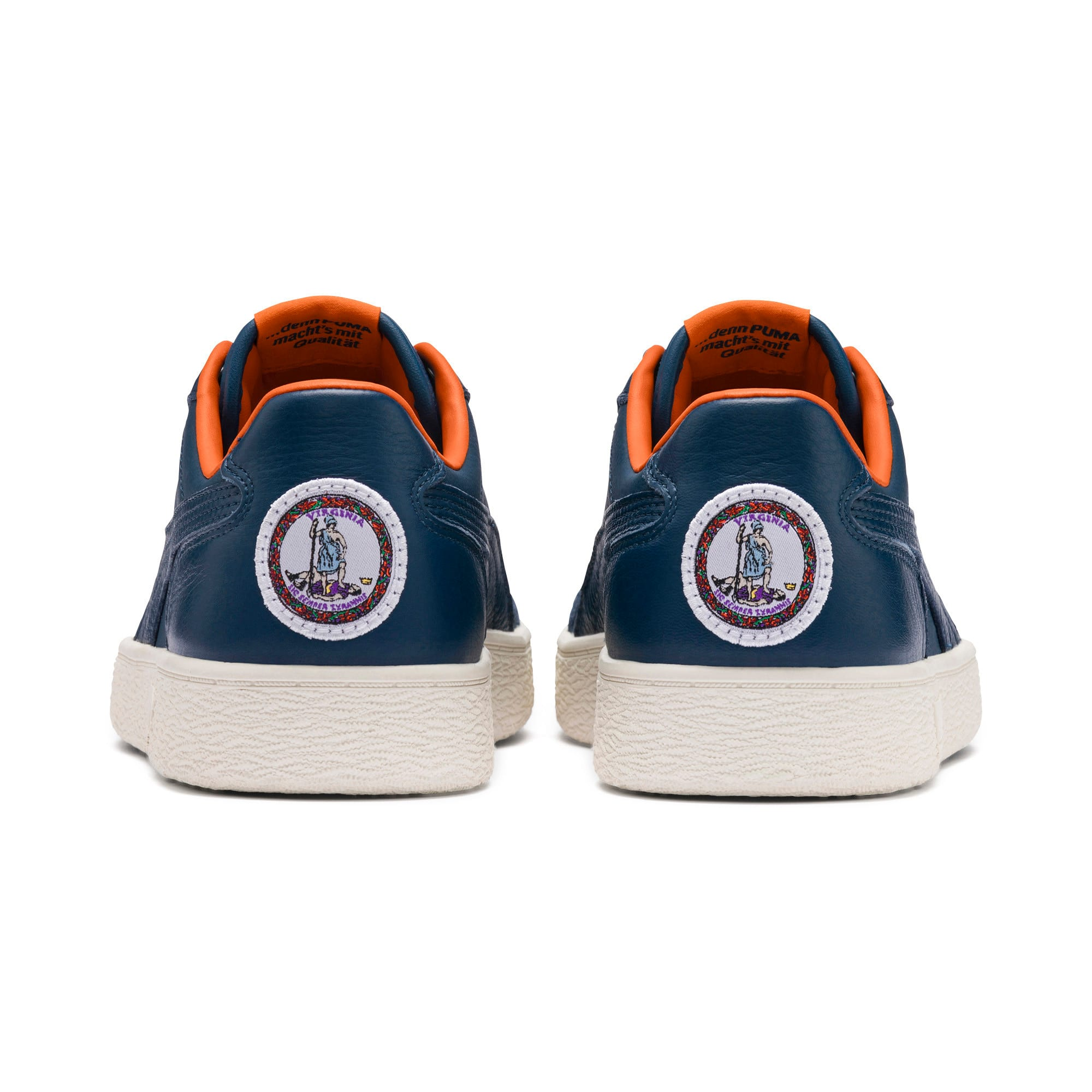 Thumbnail 4 of Ralph Sampson Lo Virginia Trainers, Gib.Sea-Marshmallow-J.Orange, medium