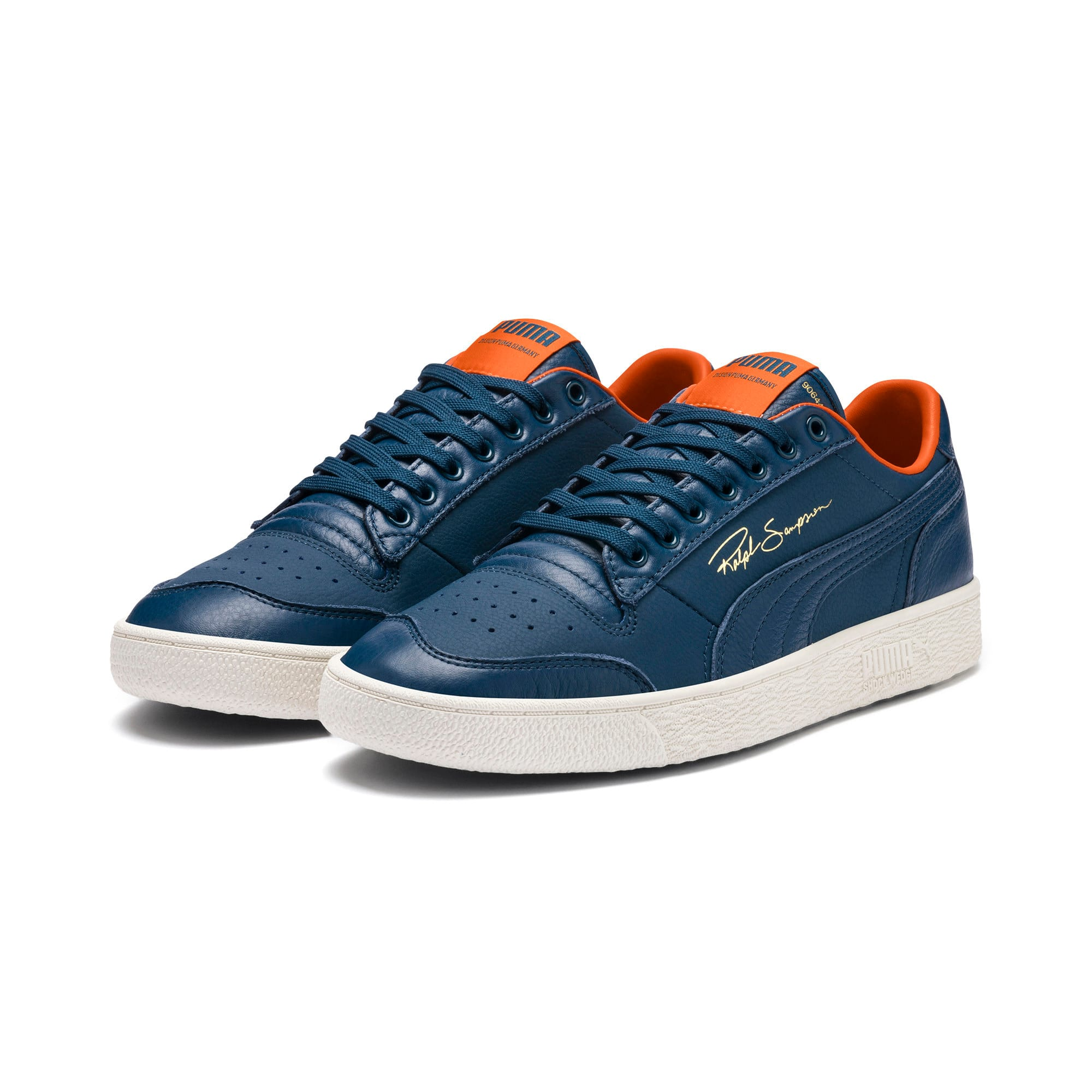 Thumbnail 3 of Ralph Sampson Lo Virginia Trainers, Gib.Sea-Marshmallow-J.Orange, medium