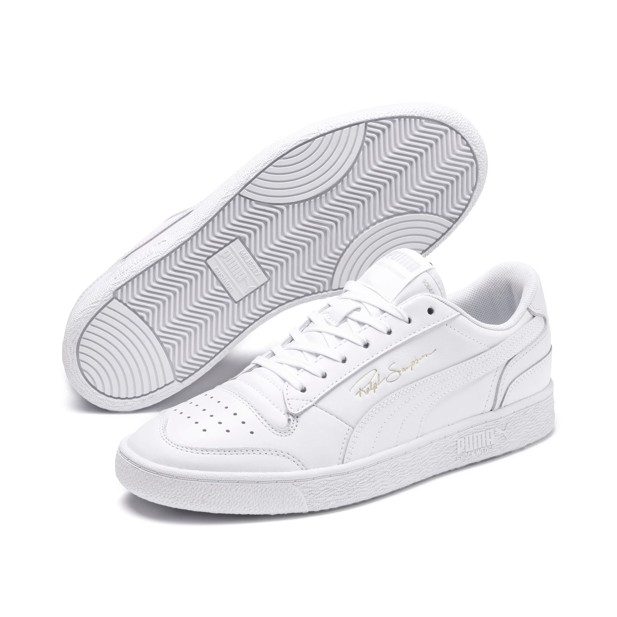 Thumbnail 3 of Ralph Sampson Lo Sneakers, Puma Wht-Puma Wht-Puma Wht, medium