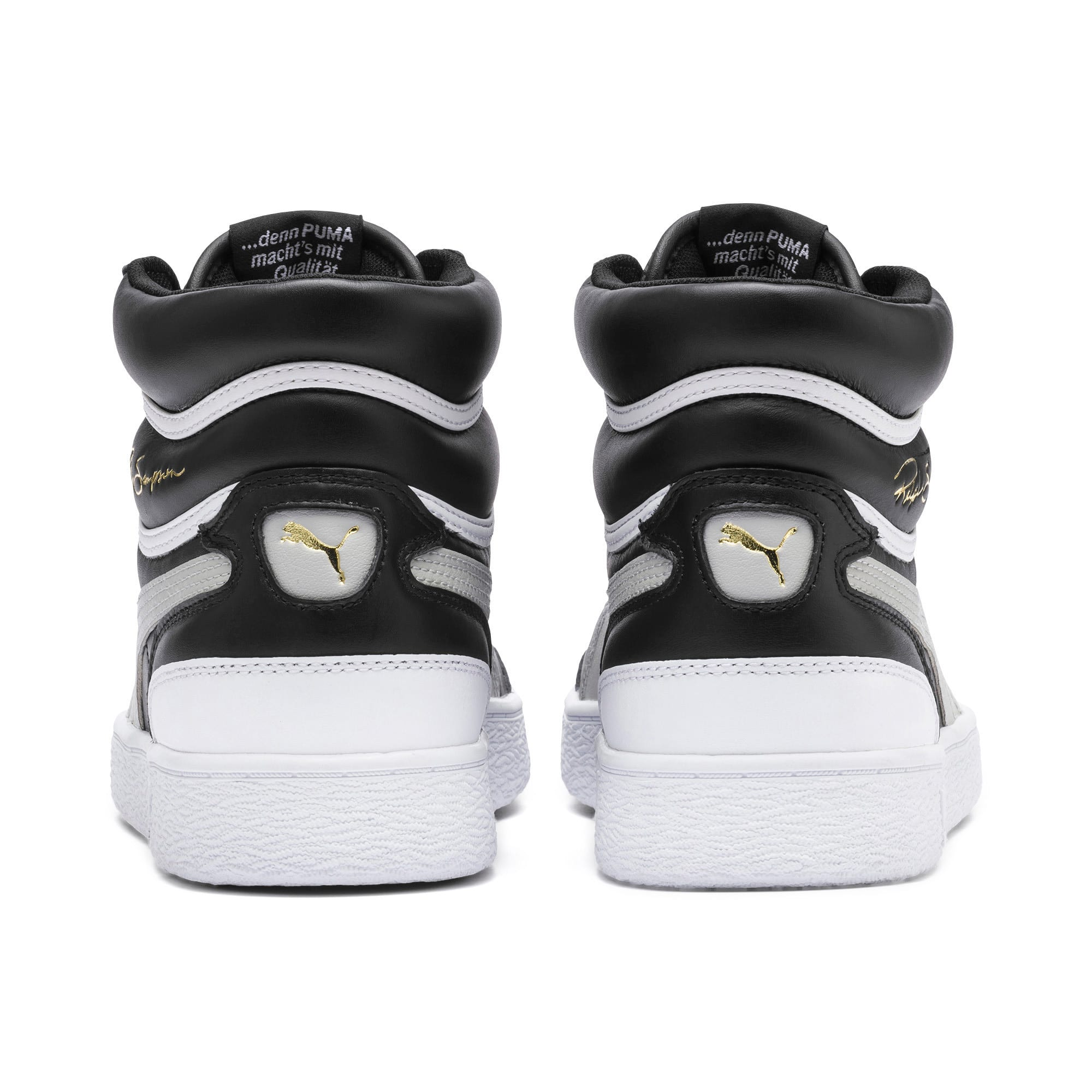 Thumbnail 3 of Ralph Sampson Mid Trainers, PumaBlk-Gray Violet-PumaWht, medium