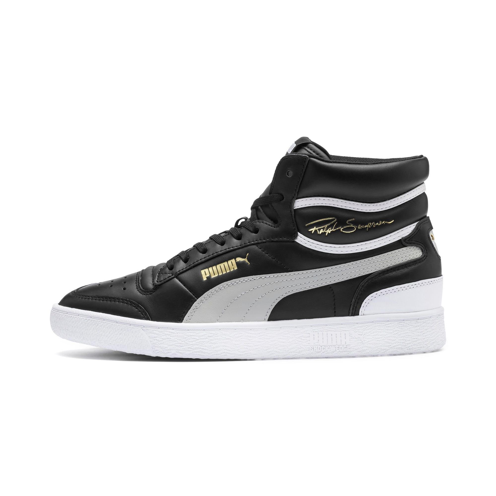 Thumbnail 1 of Ralph Sampson Mid Sneakers, PumaBlk-Gray Violet-PumaWht, medium