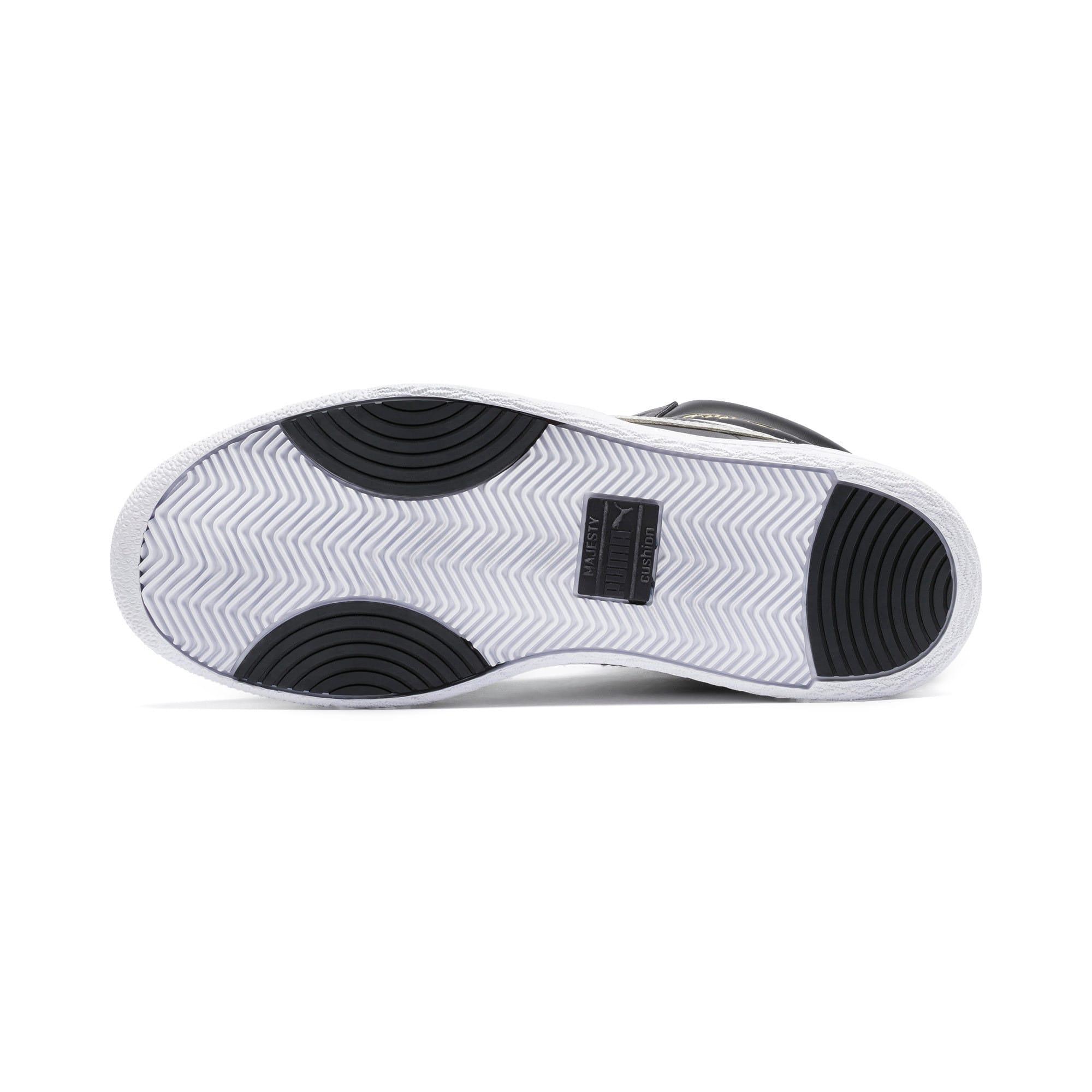 Thumbnail 4 of Ralph Sampson Mid Sneakers, PumaBlk-Gray Violet-PumaWht, medium