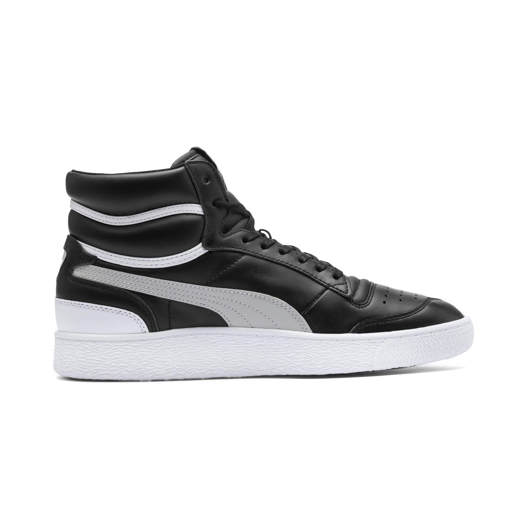 Thumbnail 5 of Ralph Sampson Mid Sneakers, PumaBlk-Gray Violet-PumaWht, medium