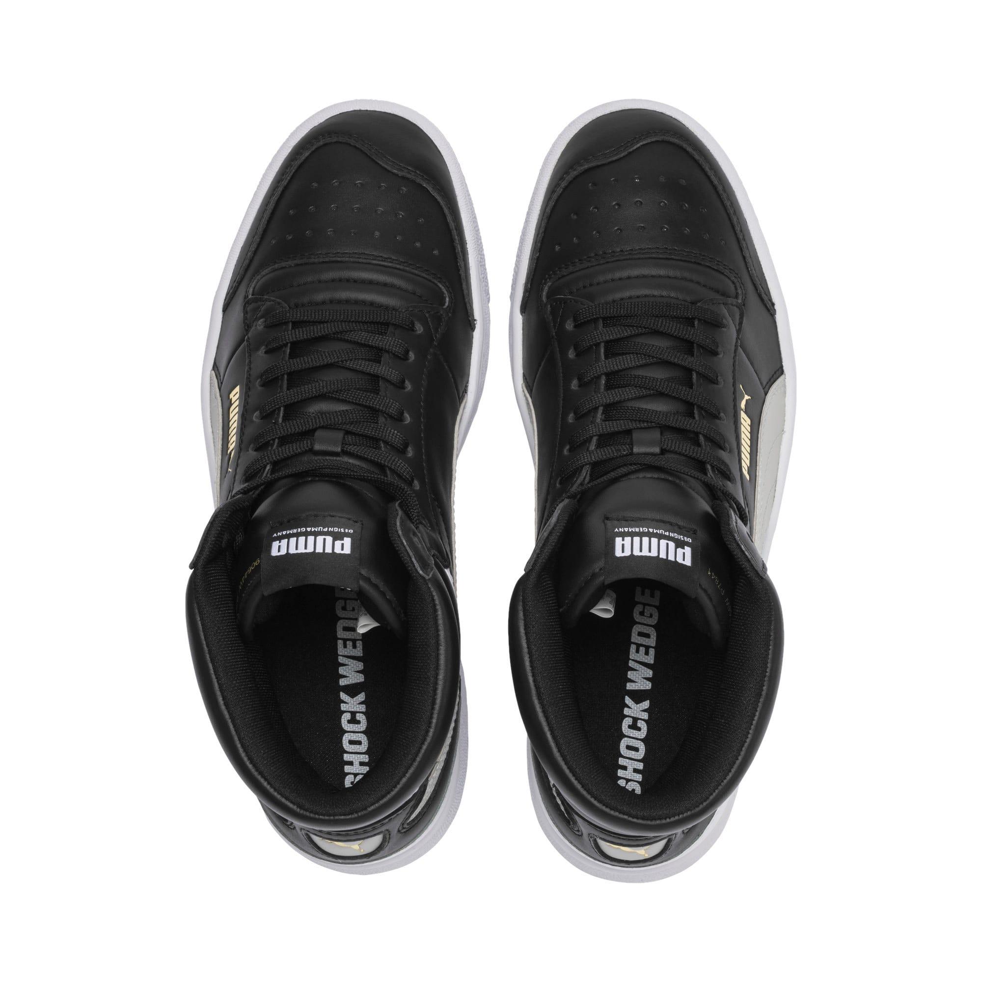 Thumbnail 6 of Ralph Sampson Mid Sneakers, PumaBlk-Gray Violet-PumaWht, medium