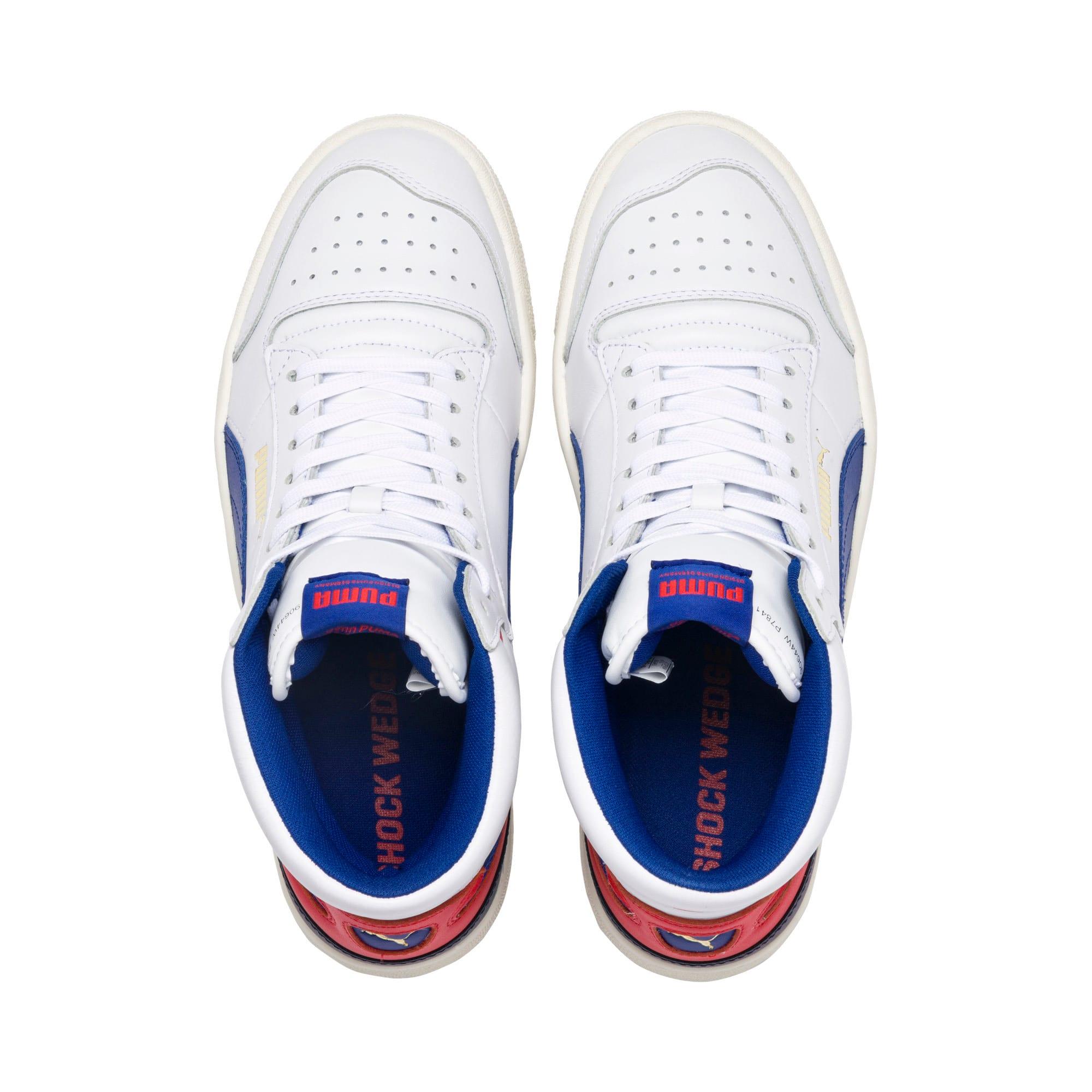 Thumbnail 6 of Ralph Sampson Mid Sneakers, Wht-Surf The Web-Marshmallow, medium