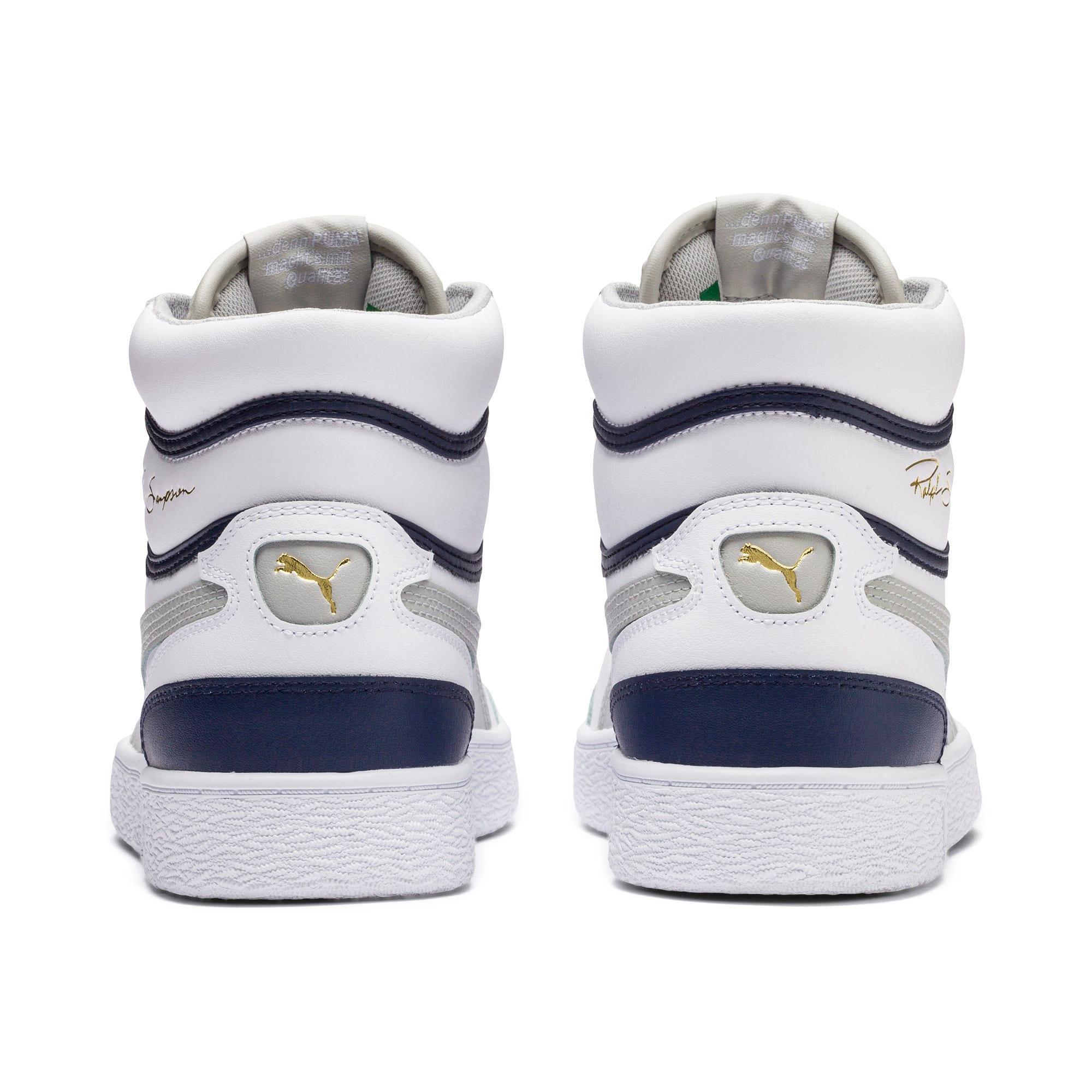 Thumbnail 3 of Ralph Sampson Mid Sneakers, P White-Gray Violet-Peacoat, medium