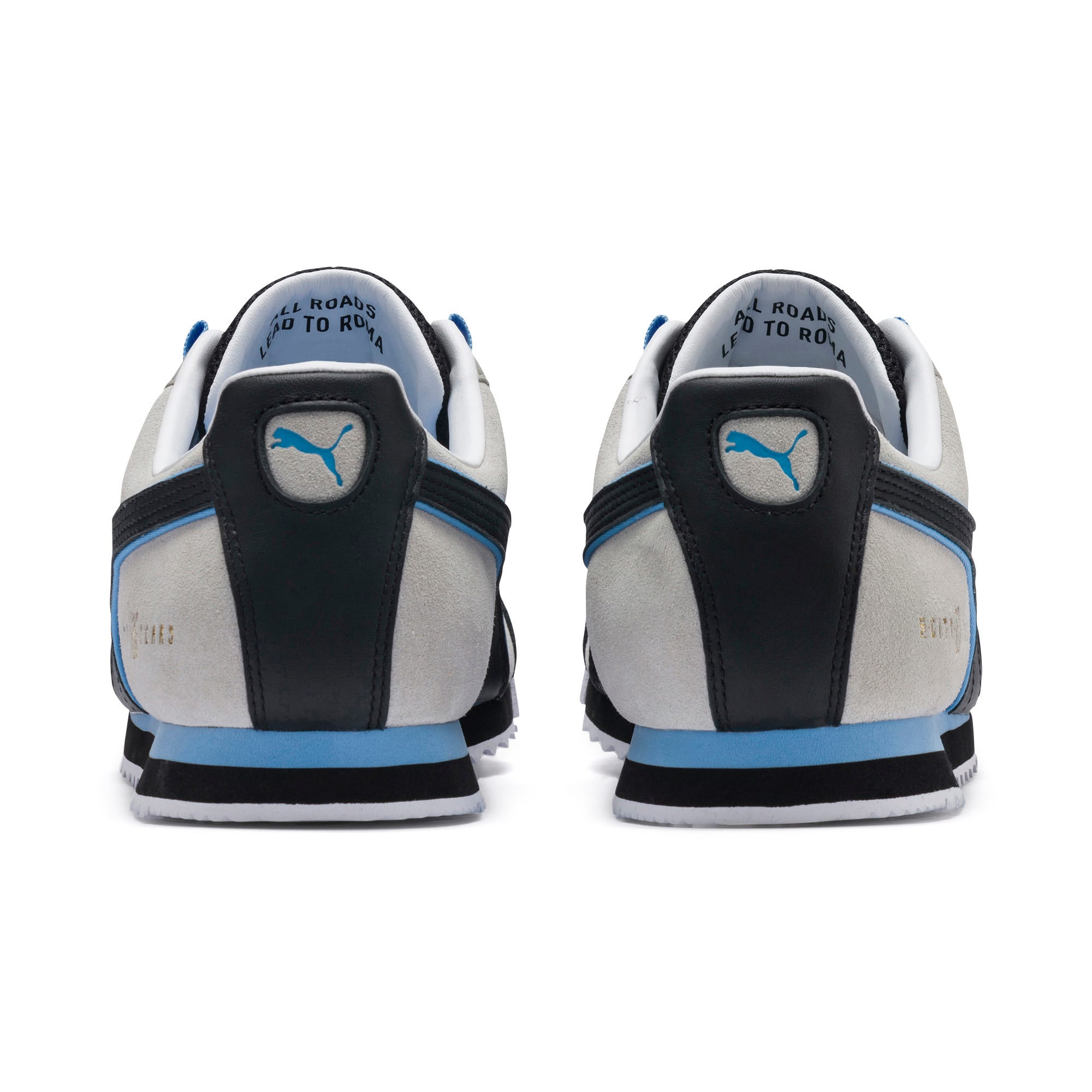Thumbnail 3 of Roma x Manchester City Trainers, Gray Violet-Team Light Blue, medium