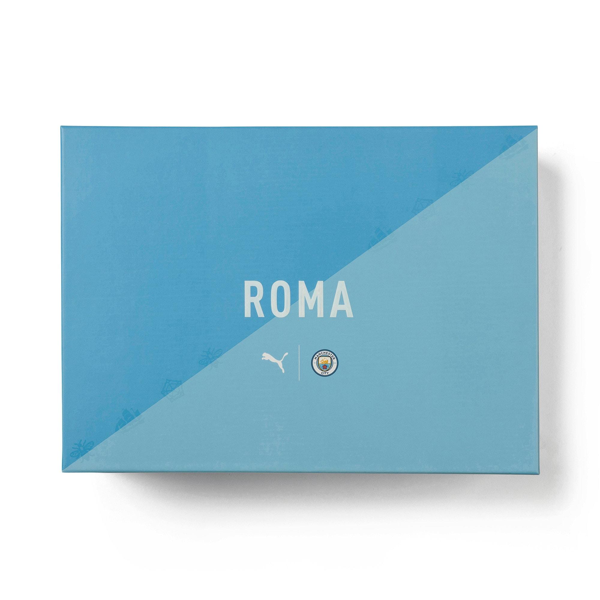 Thumbnail 7 of Roma Manchester City Men's Sneakers, Gray Violet-Team Light Blue, medium