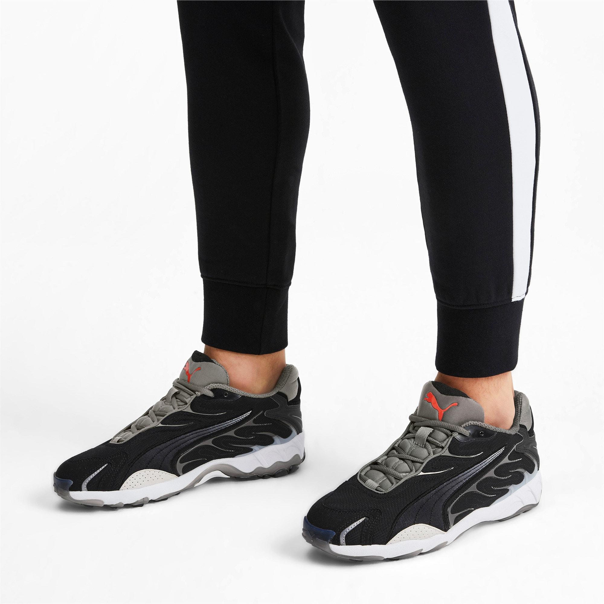 Thumbnail 2 of Inhale Flares Sneakers, Puma Black-Puma White, medium