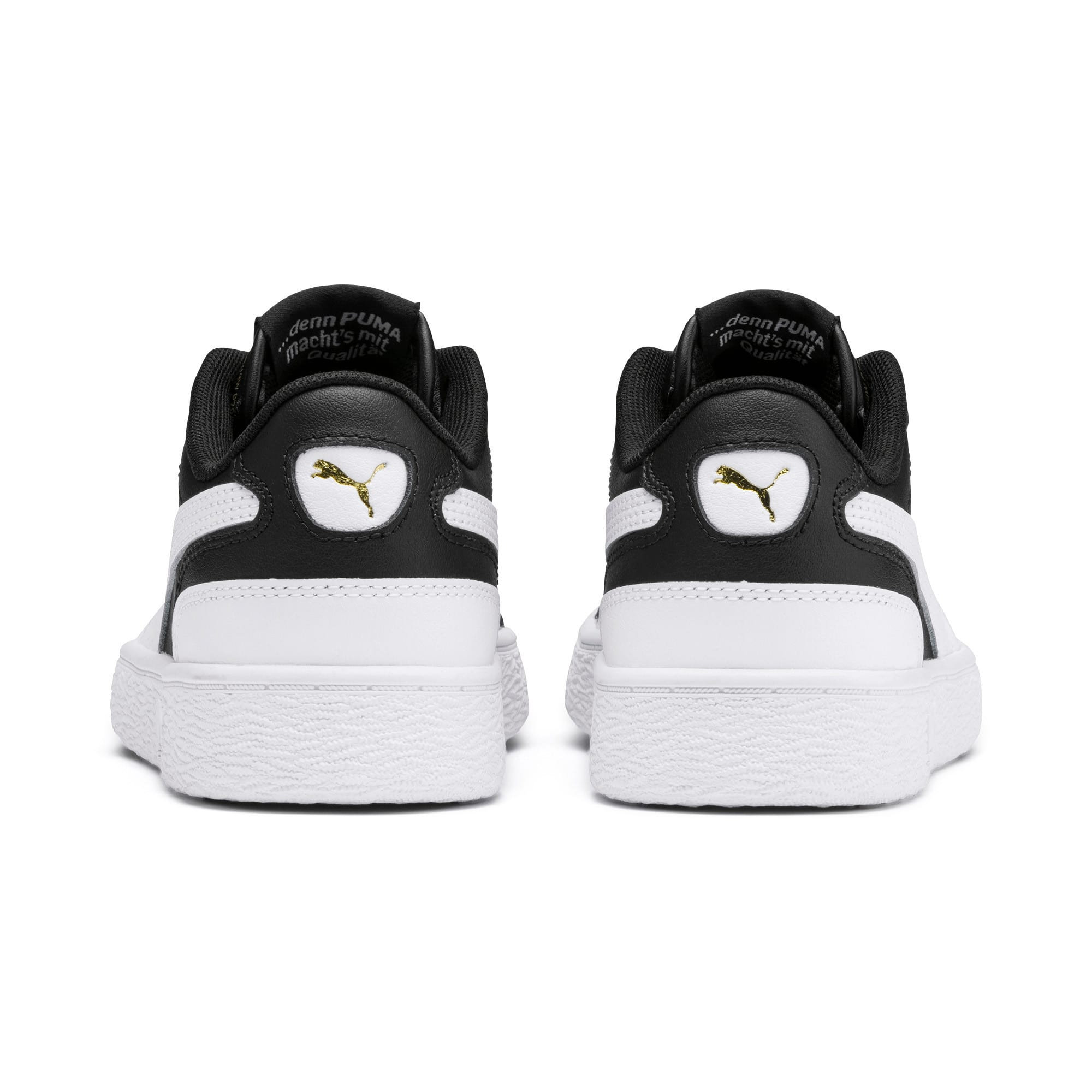 Thumbnail 3 of Ralph Sampson Lo Sneakers JR, Black-White-White, medium