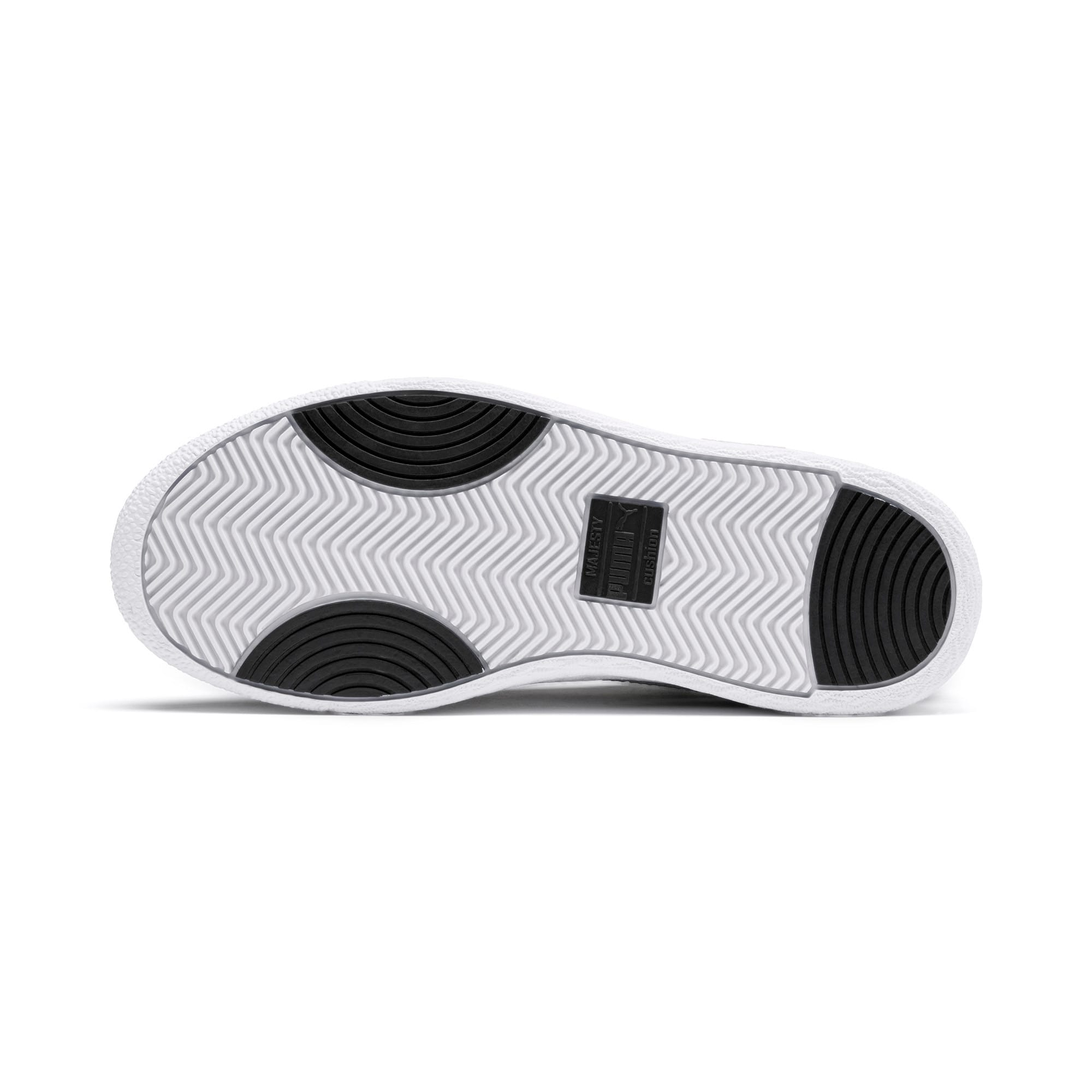 Thumbnail 4 of Ralph Sampson Lo Sneakers JR, Black-White-White, medium