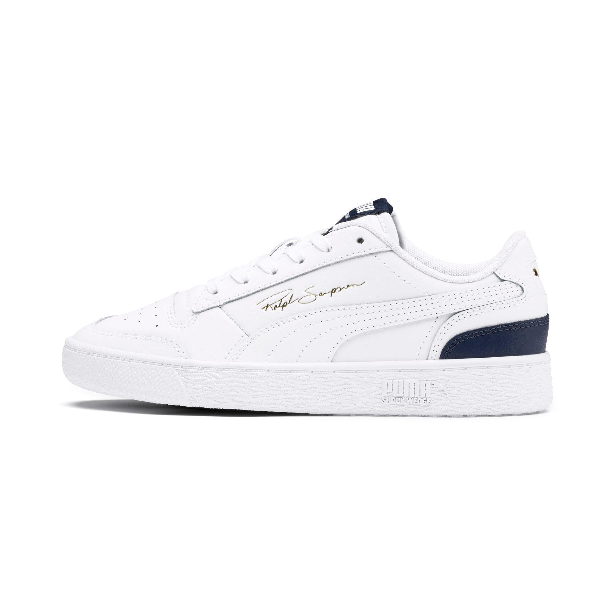 Thumbnail 1 of Ralph Sampson Lo Sneakers JR, White-Peacoat-White, medium