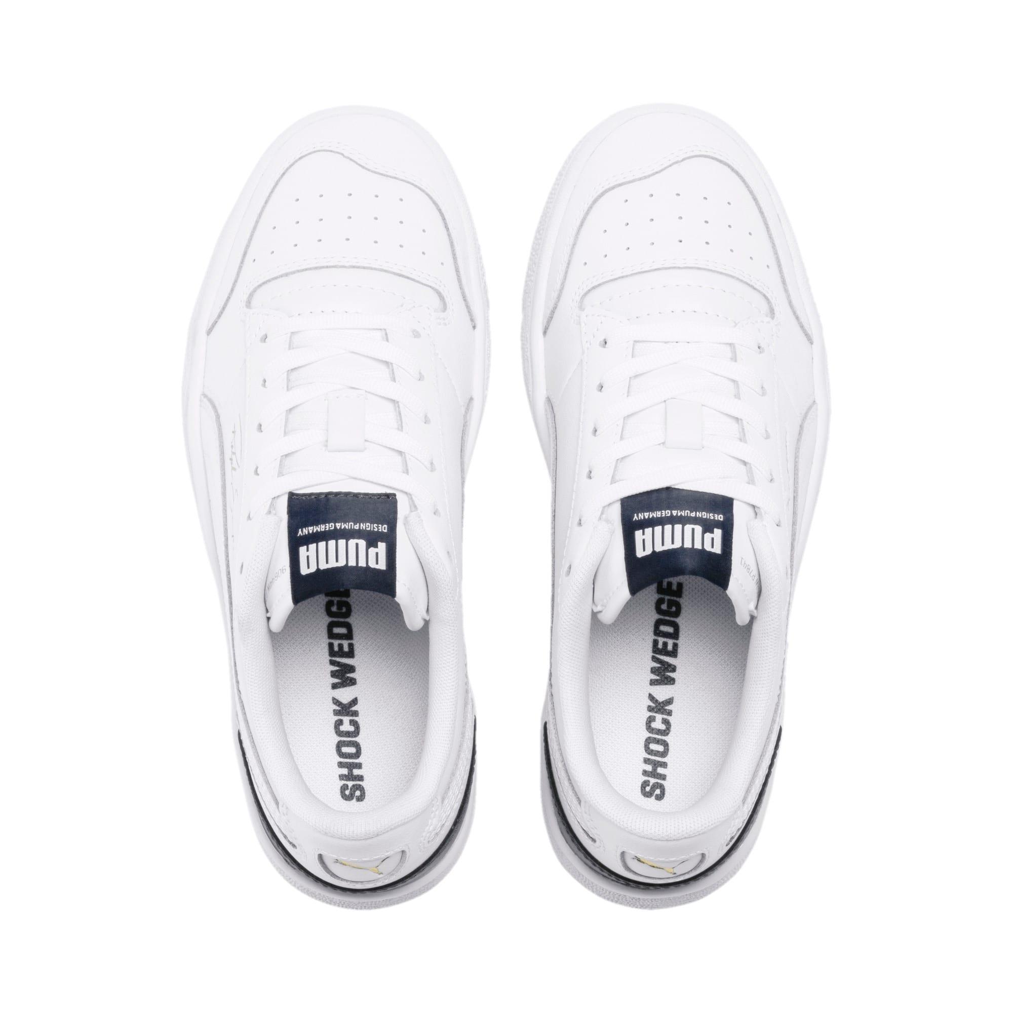 Thumbnail 6 of Ralph Sampson Lo Sneakers JR, White-Peacoat-White, medium