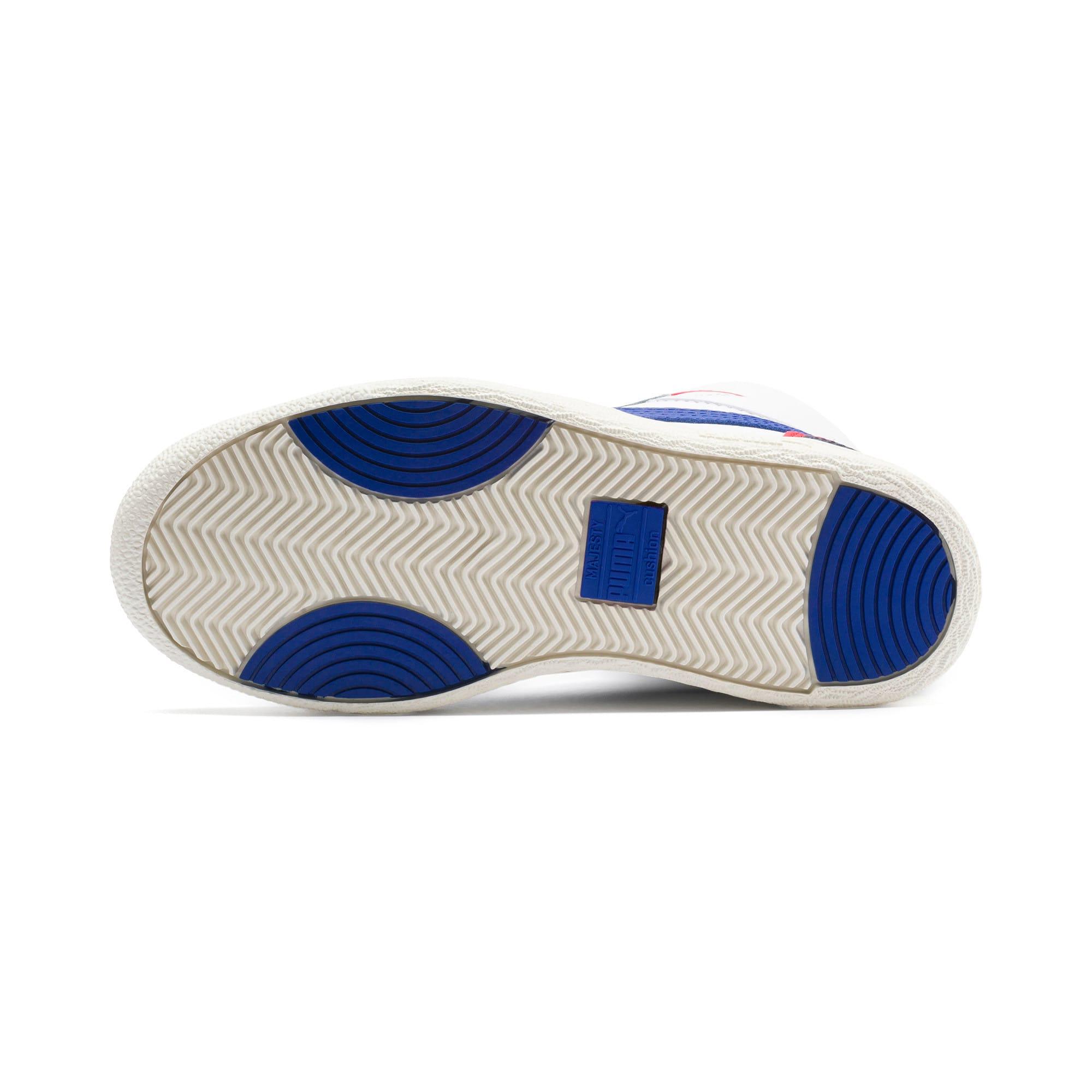 Thumbnail 4 of Ralph Sampson Mid Sneakers JR, White-SurfTheWeb-Marshmallow, medium