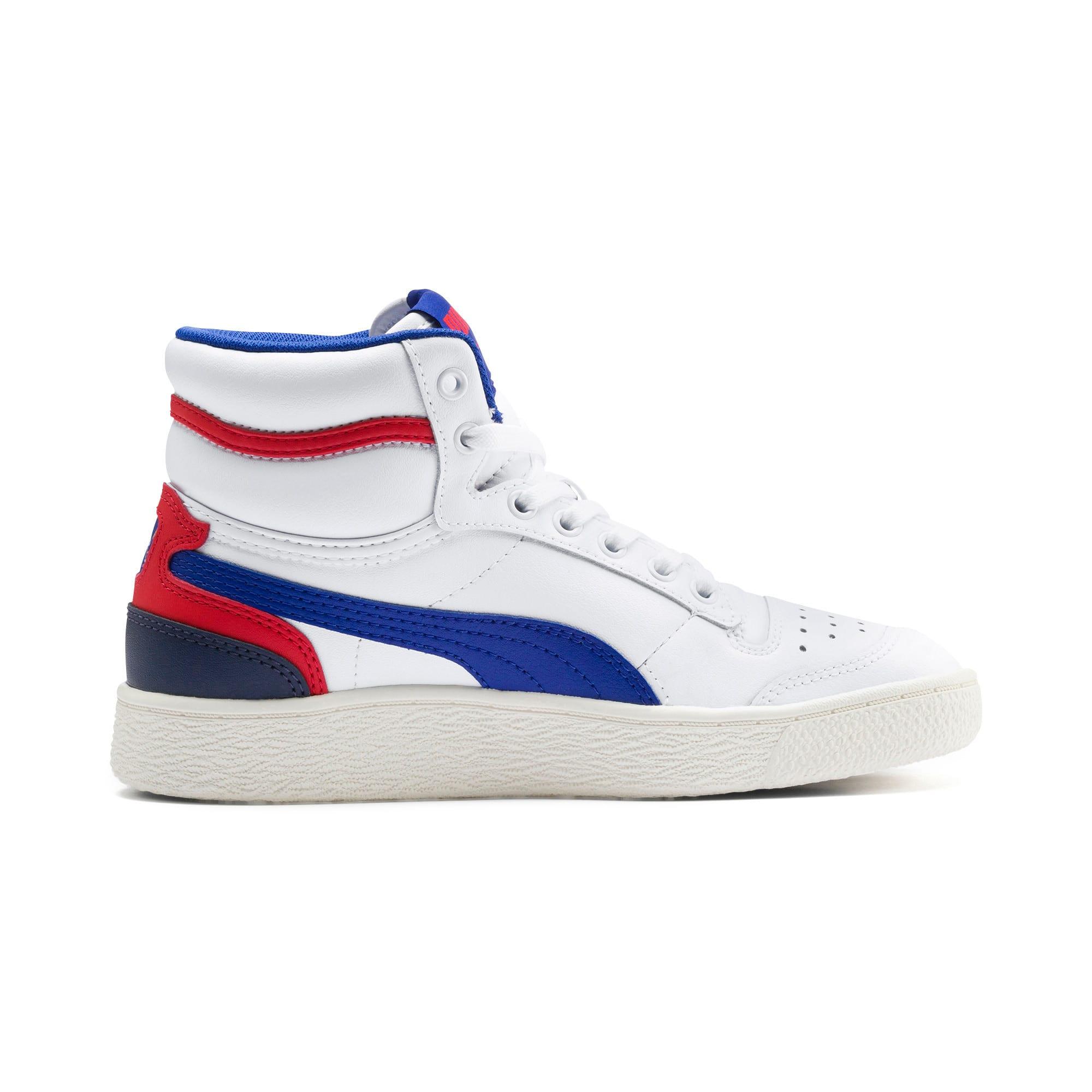 Thumbnail 5 of Ralph Sampson Mid Sneakers JR, White-SurfTheWeb-Marshmallow, medium
