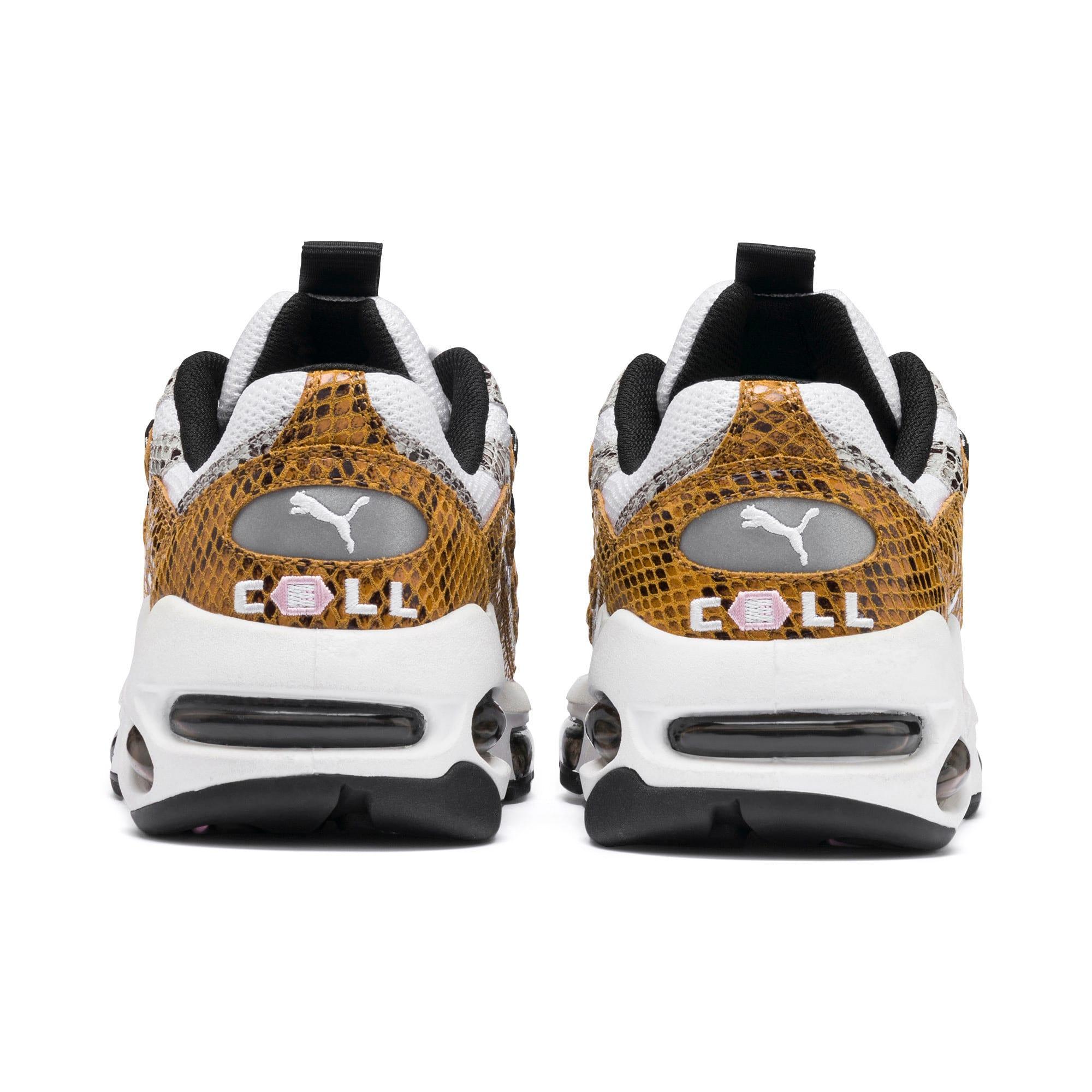 Thumbnail 4 of CELL Endura Animal Kingdom Sneakers, Puma White-Golden Orange, medium