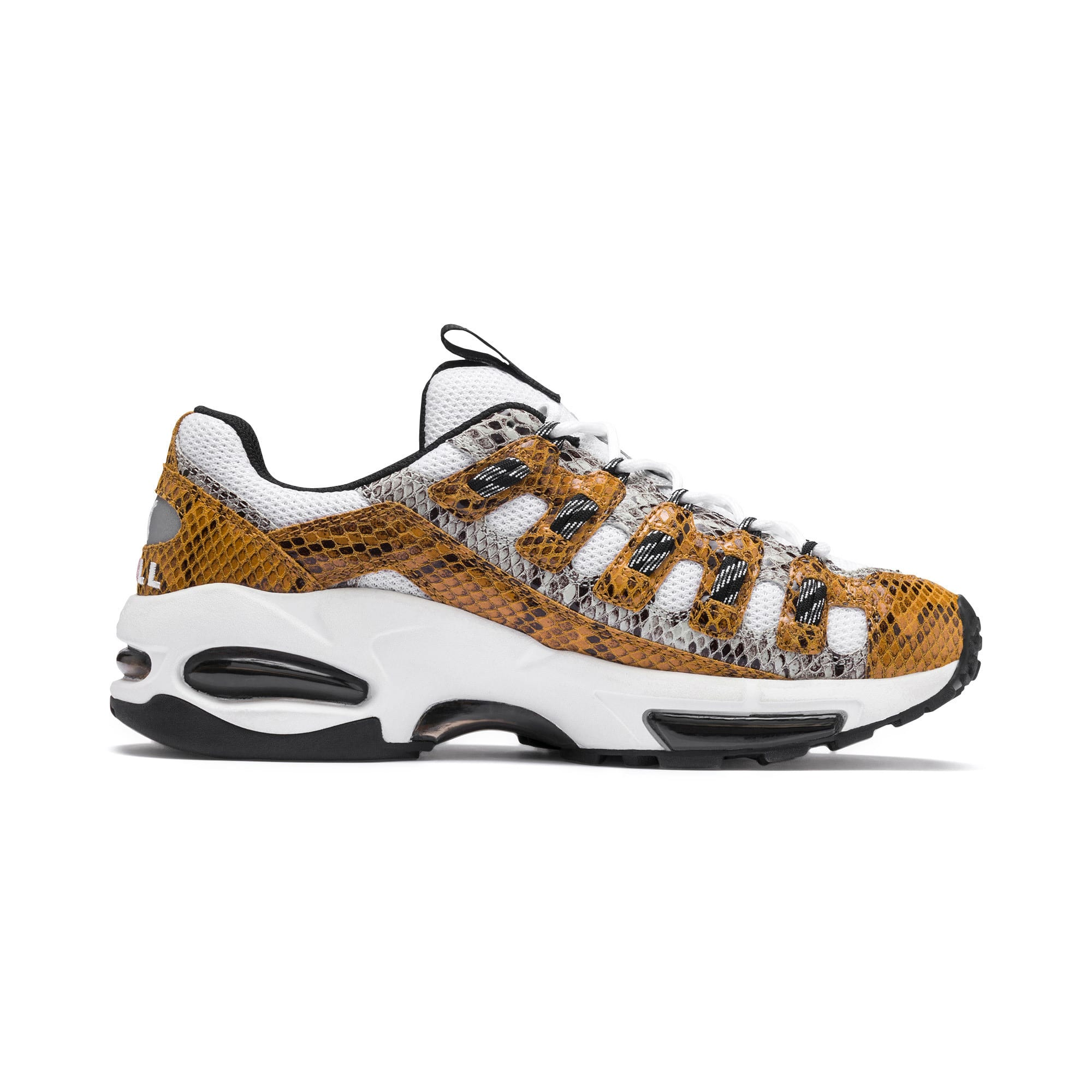 Thumbnail 6 of CELL Endura Animal Kingdom Sneakers, Puma White-Golden Orange, medium
