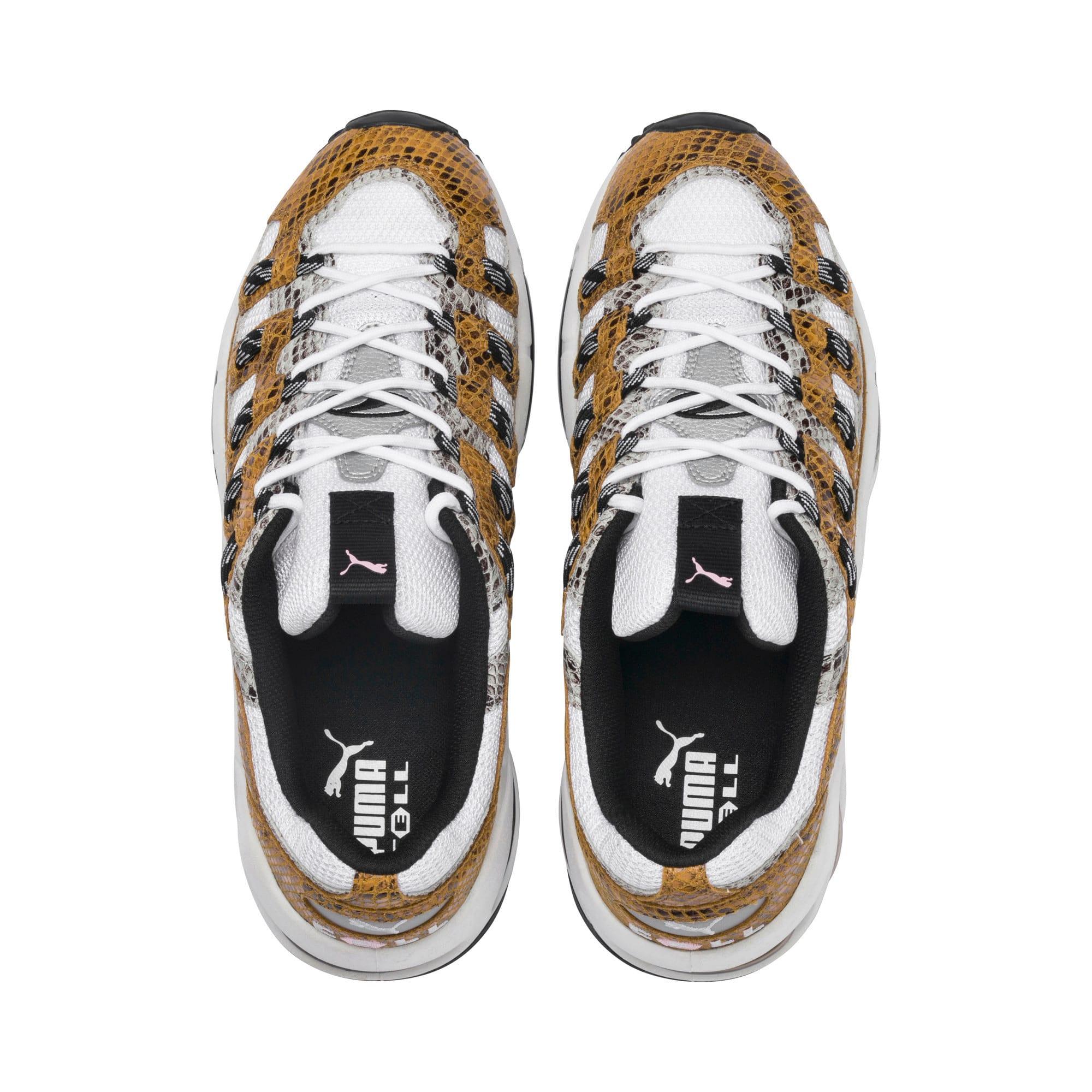 Thumbnail 7 of CELL Endura Animal Kingdom Sneakers, Puma White-Golden Orange, medium