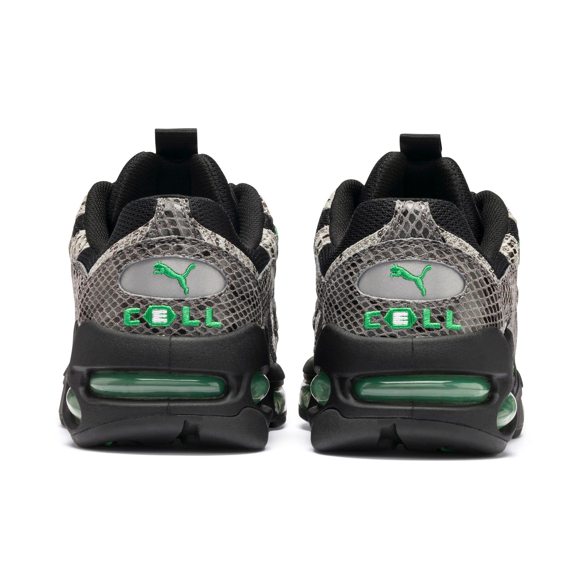 Thumbnail 4 of CELL Endura Animal Kingdom Sneakers, Puma Black-Classic Green, medium