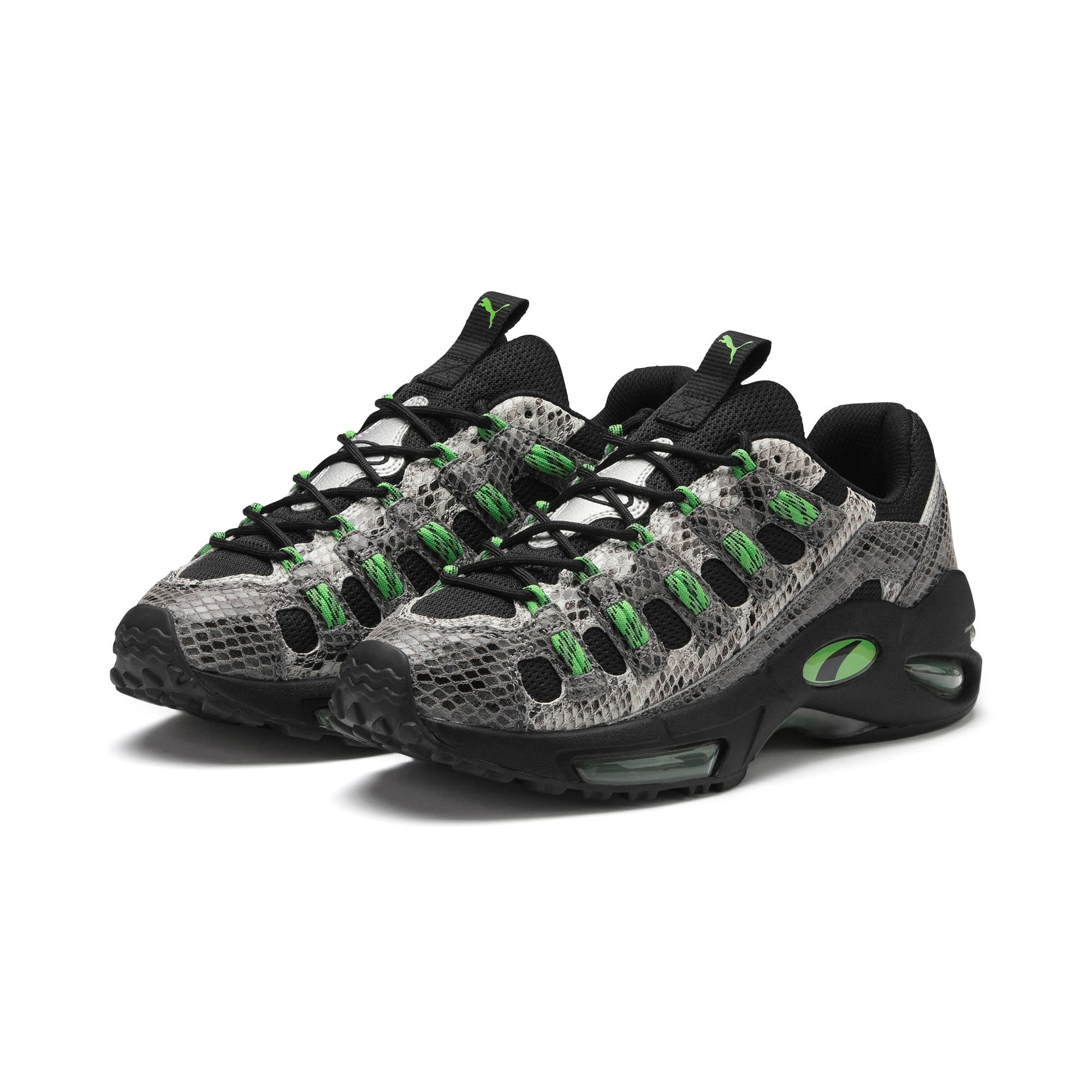 Thumbnail 3 of CELL Endura Animal Kingdom Sneakers, Puma Black-Classic Green, medium