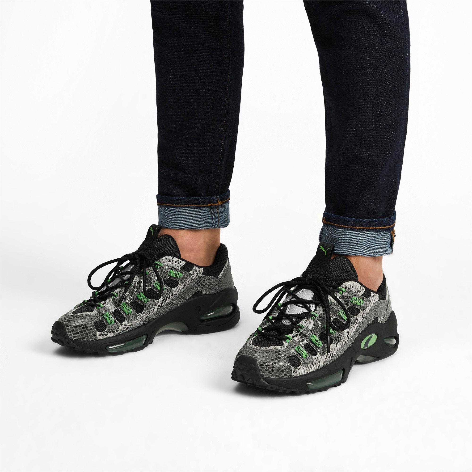 Thumbnail 2 of CELL Endura Animal Kingdom Sneakers, Puma Black-Classic Green, medium