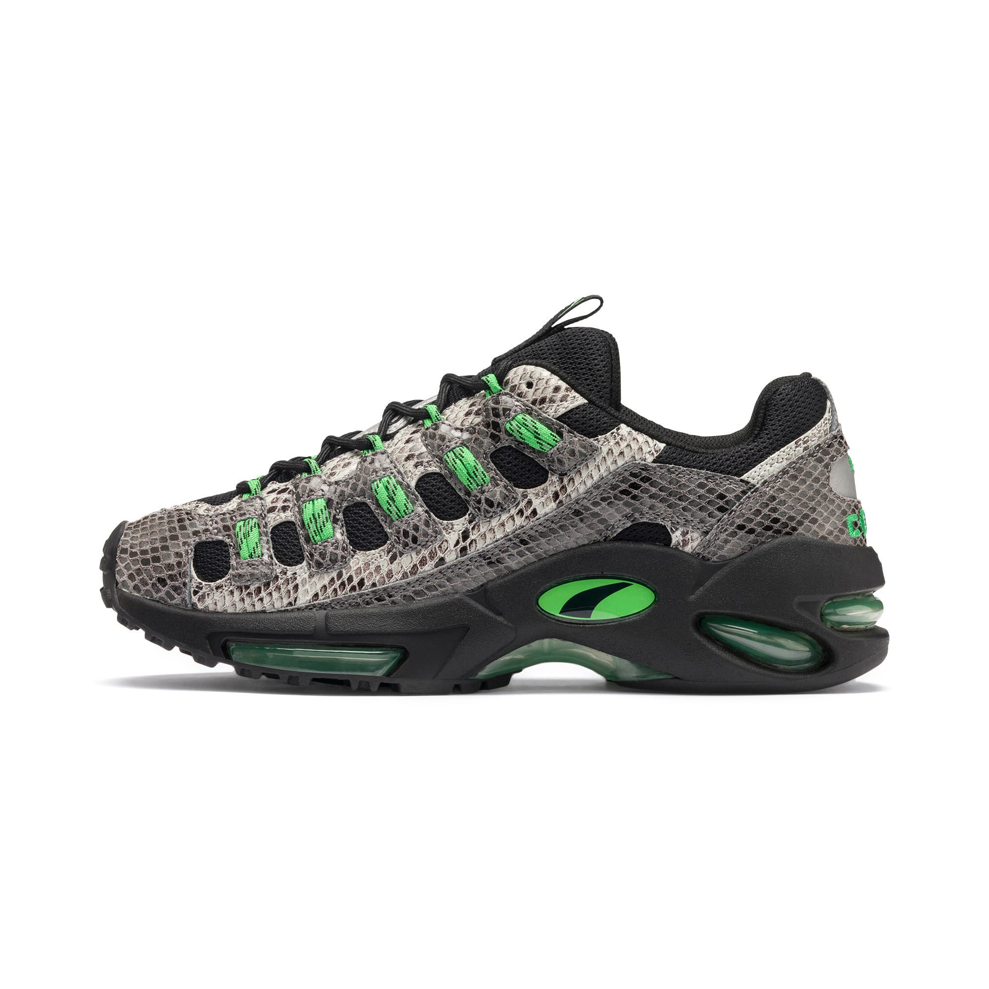Thumbnail 1 of CELL Endura Animal Kingdom Sneakers, Puma Black-Classic Green, medium