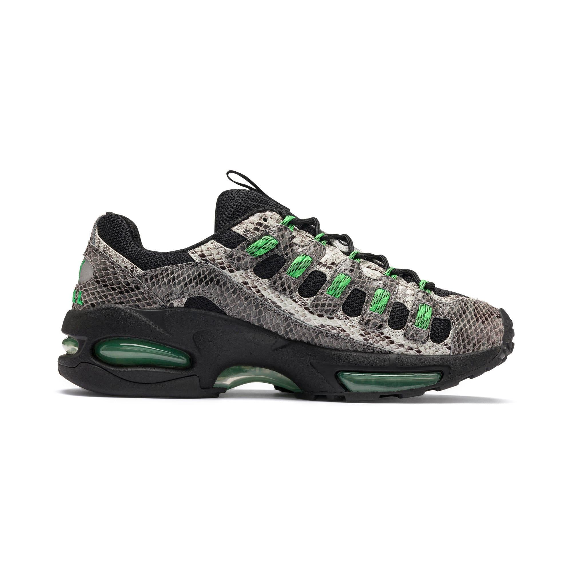 Thumbnail 6 of CELL Endura Animal Kingdom Sneakers, Puma Black-Classic Green, medium