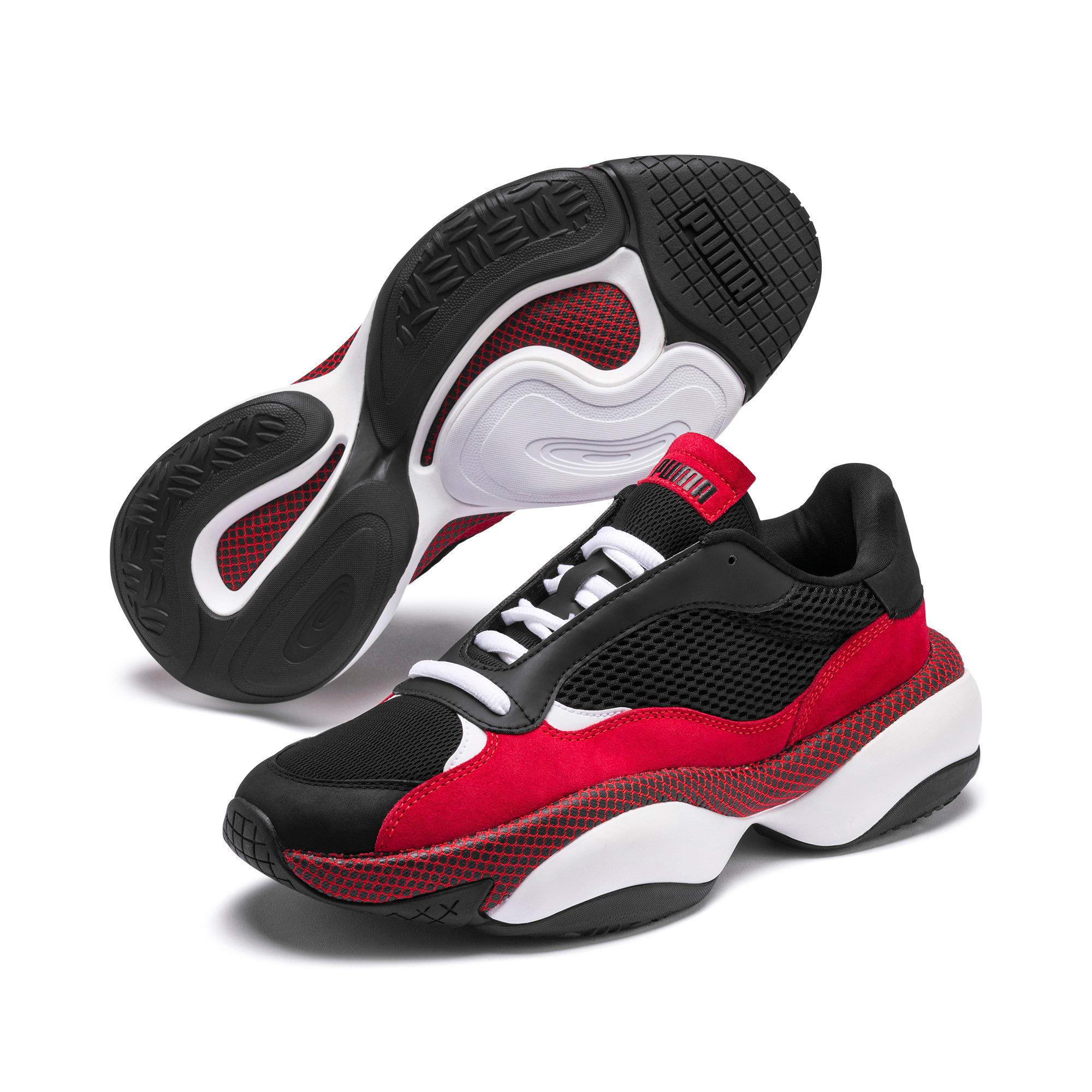 Thumbnail 3 of Alteration Blitz Sneakers, Puma Black-High Risk Red, medium