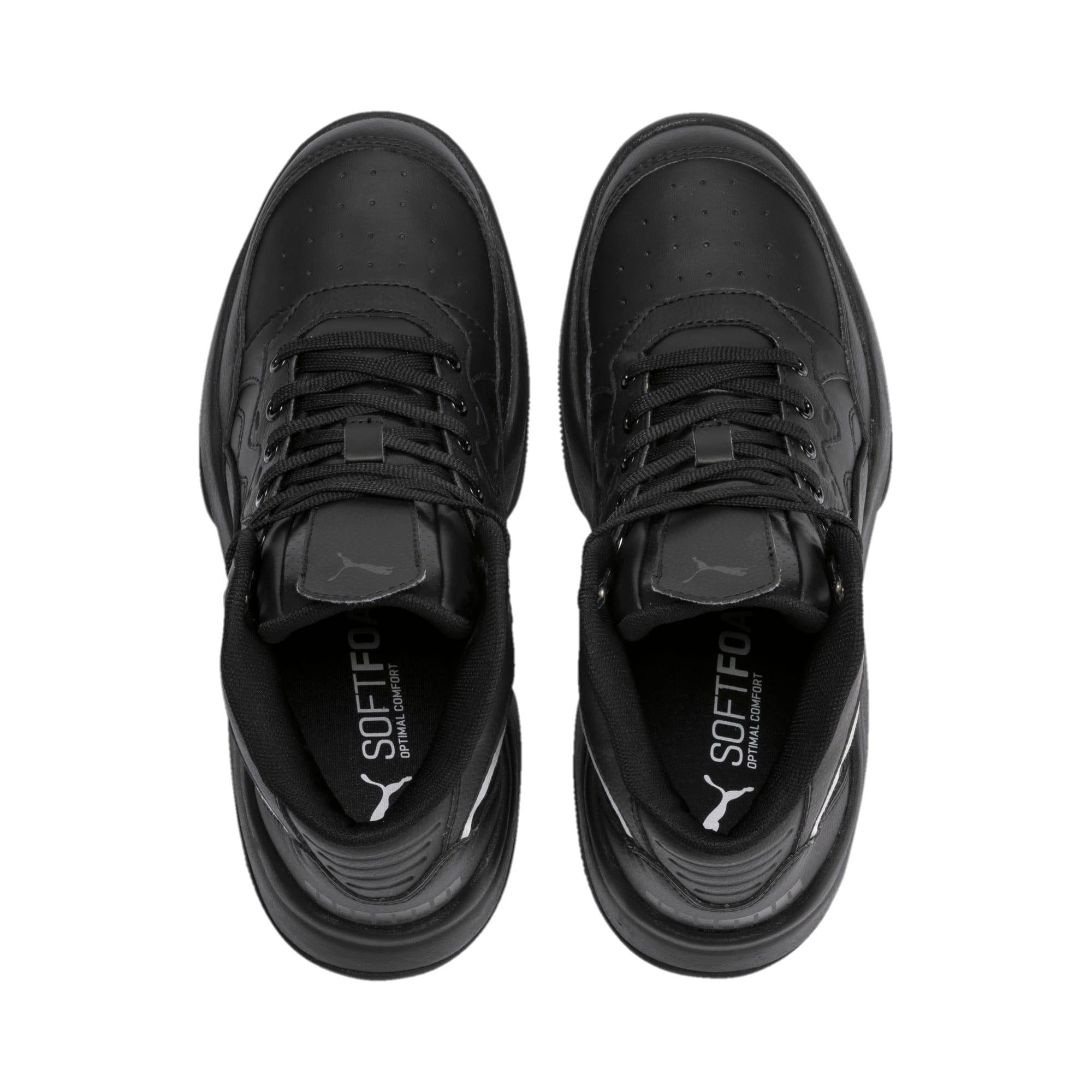 Thumbnail 6 of PUMA Rebound Playoff SL Sneakers JR, Puma Black-Puma Silver, medium