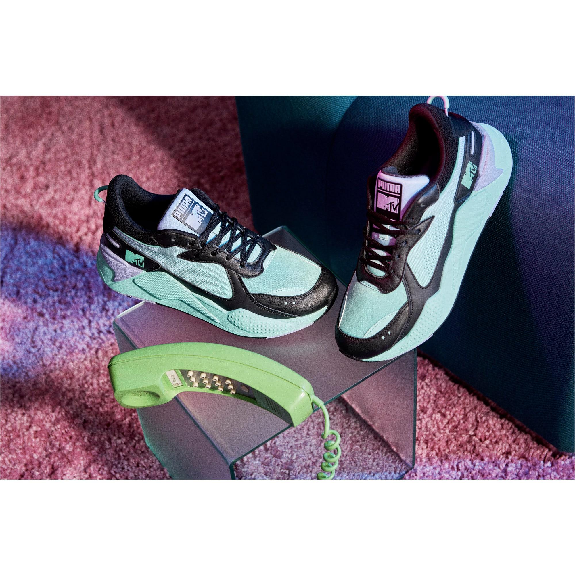 Thumbnail 8 of RS-X Tracks MTV Gradient Gloom Sneakers, Puma Black-Sweet Lavender, medium