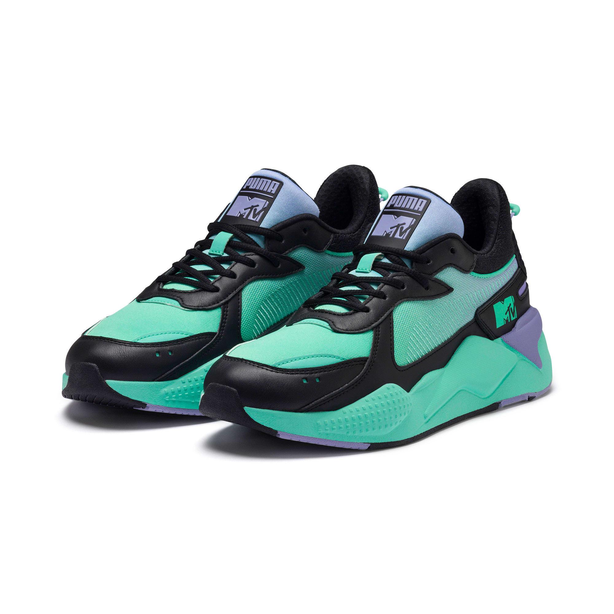 Thumbnail 2 of RS-X Tracks MTV Gradient Gloom Sneakers, Puma Black-Sweet Lavender, medium
